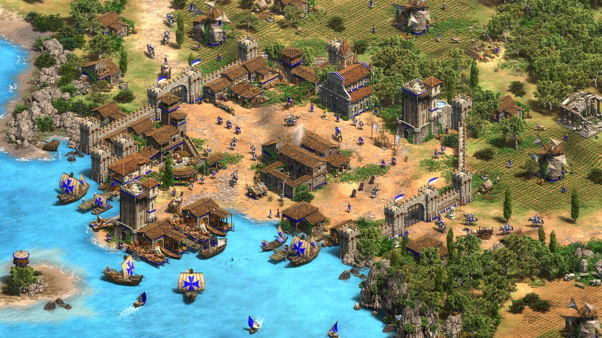 Age of Empires II: Definitive Edition - Lords of the West (PC) - Steam Key - GLOBAL - 4