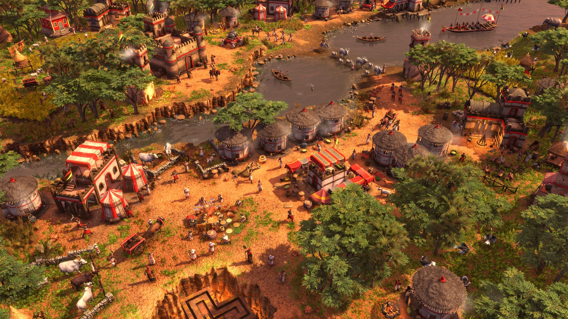 Age of Empires III: DE - The African Royals (PC) - Steam Gift - NORTH AMERICA - 4
