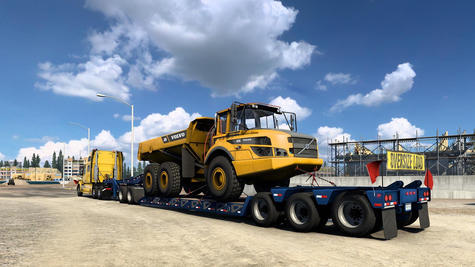 American Truck Simulator - Volvo Construction Equipment (PC) - Steam Gift - GLOBAL - 2