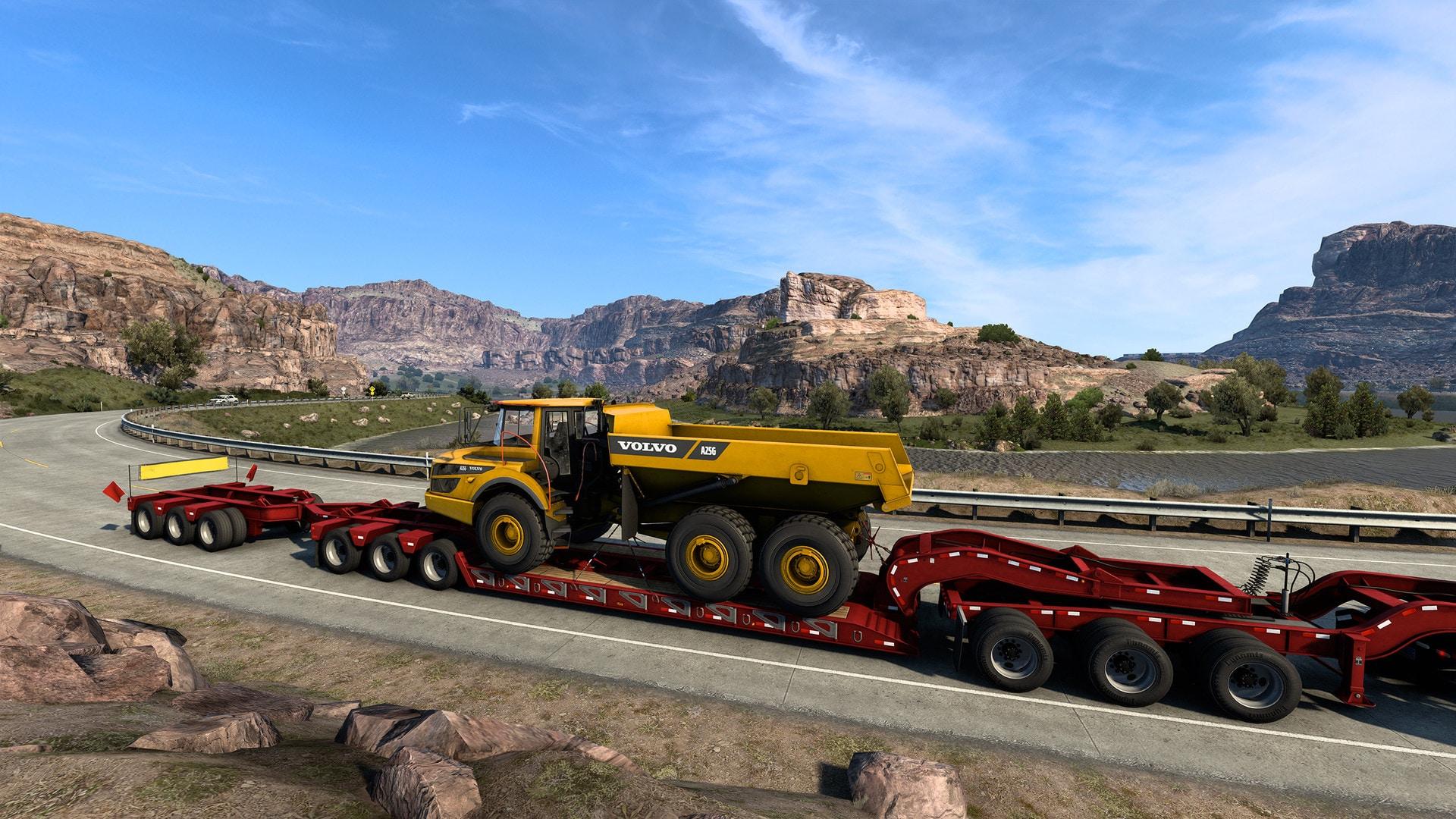 American Truck Simulator - Volvo Construction Equipment (PC) - Steam Gift - GLOBAL - 3