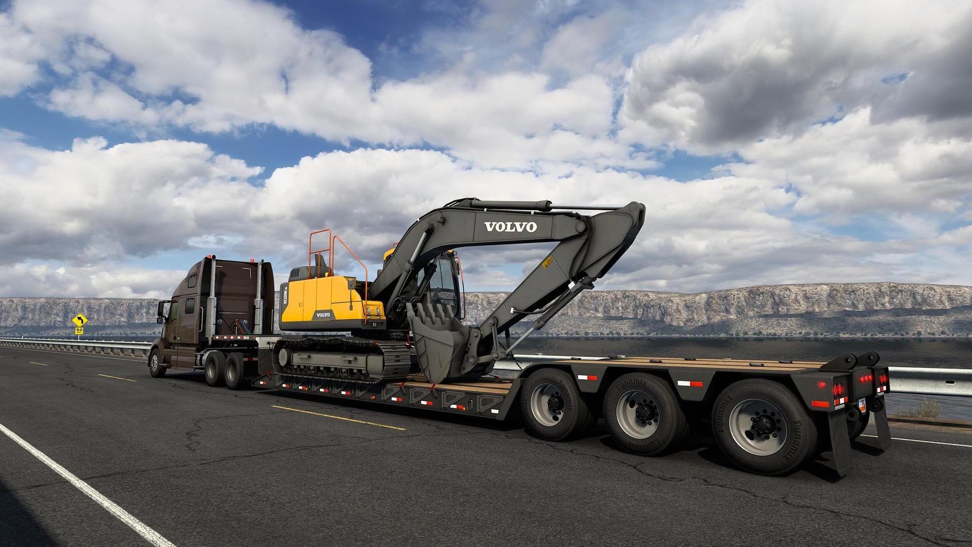 American Truck Simulator - Volvo Construction Equipment (PC) - Steam Gift - GLOBAL - 4