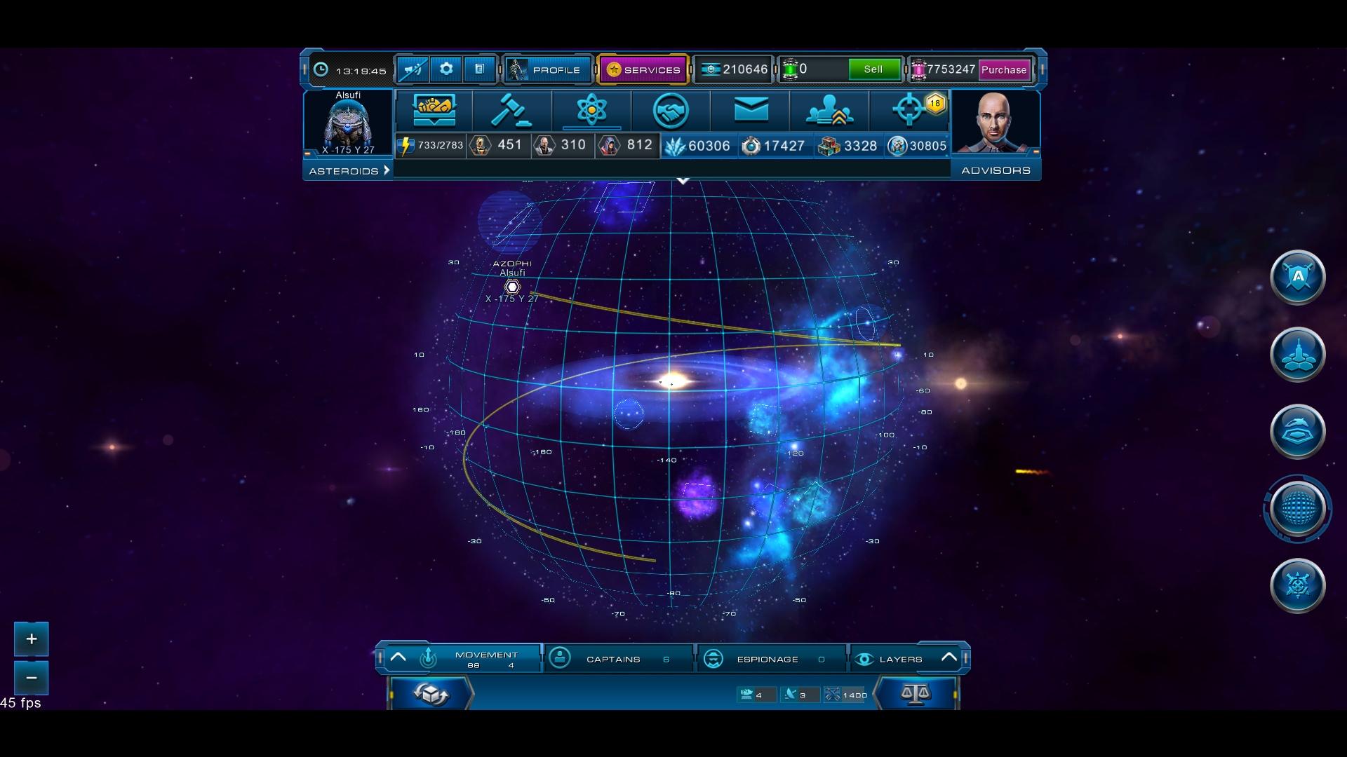 Astro Lords: Oort Cloud - Experienced Captain Key GLOBAL - 4