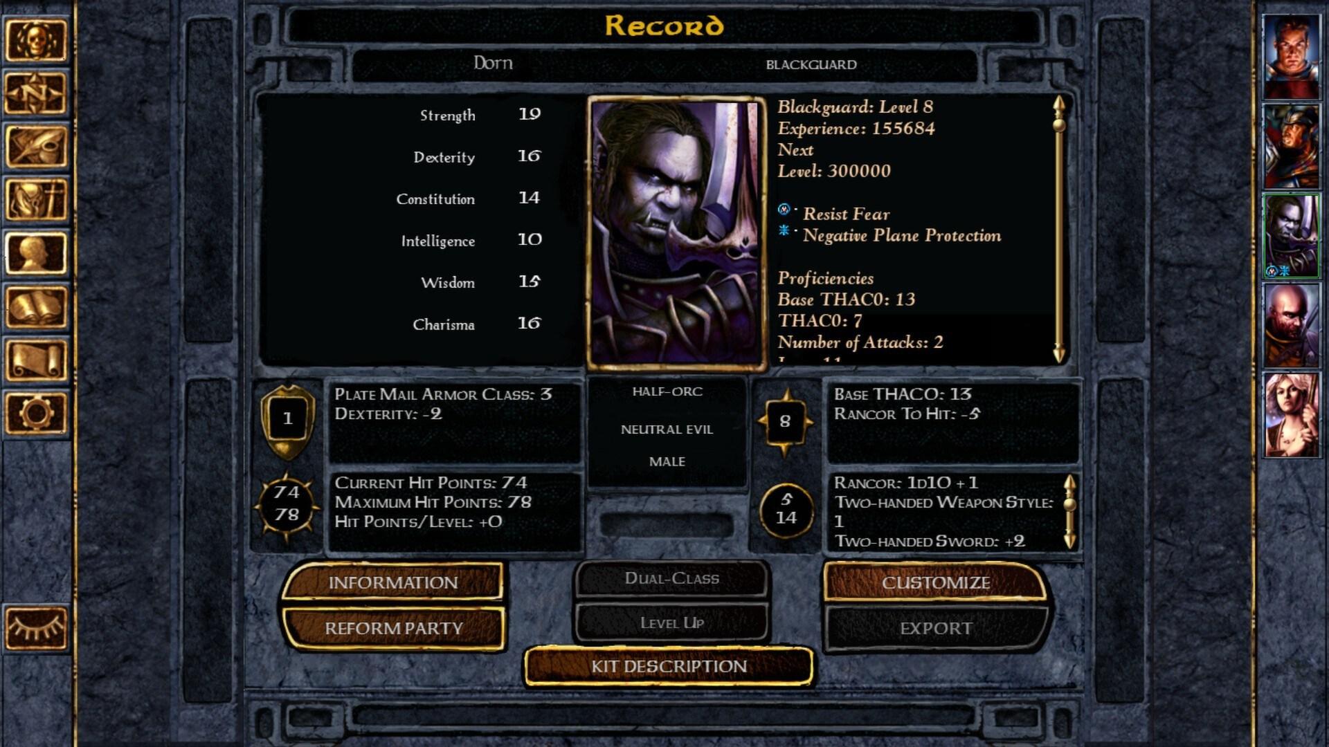 Baldur's Gate: Enhanced Edition Steam Key GLOBAL - 4