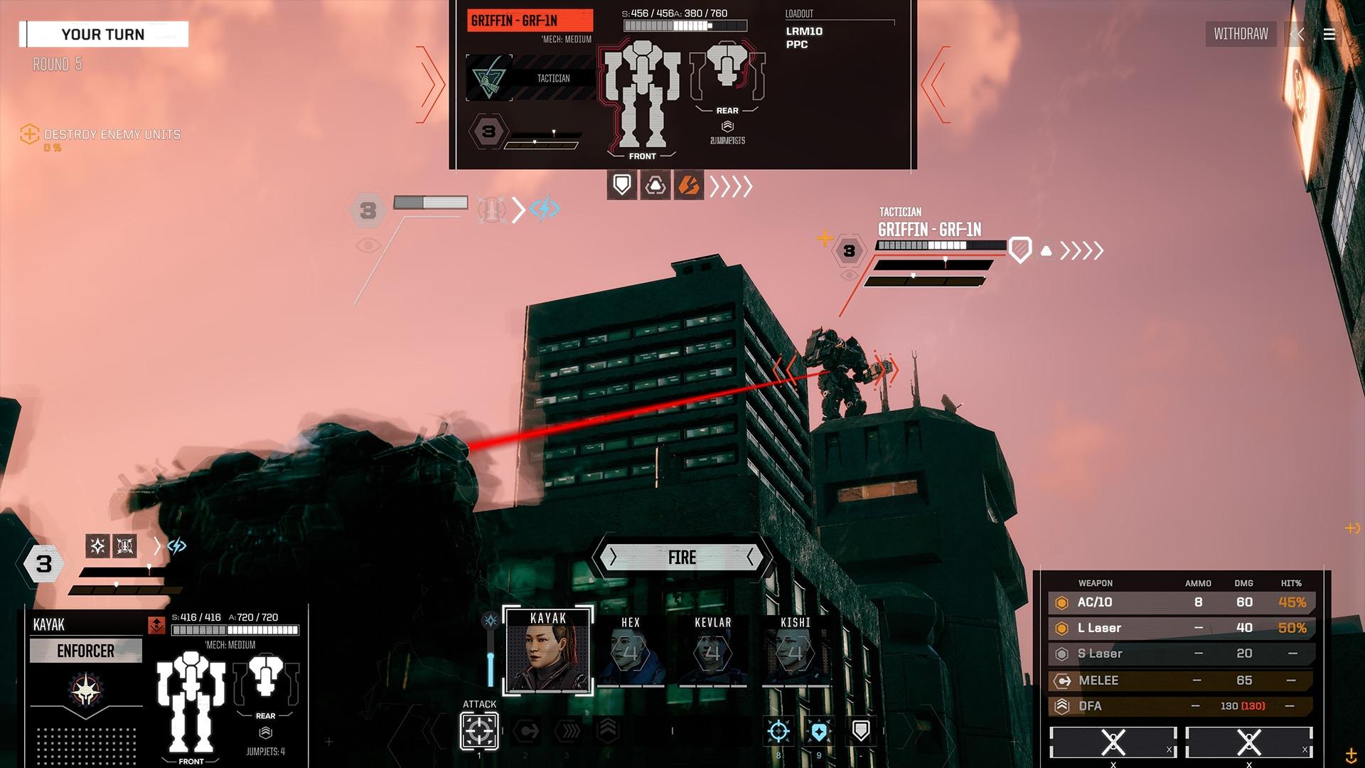 BATTLETECH Urban Warfare Steam Key GLOBAL - 1