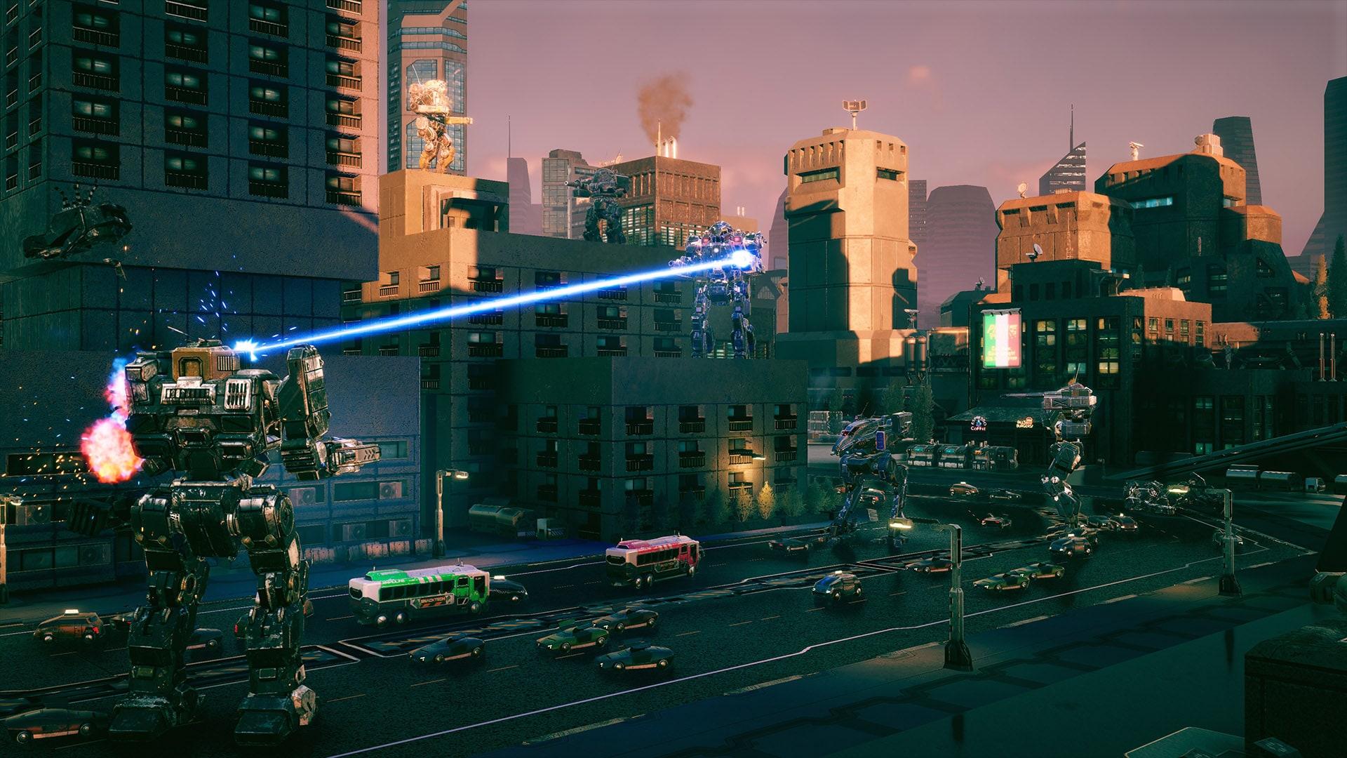 BATTLETECH Urban Warfare Steam Key GLOBAL - 2