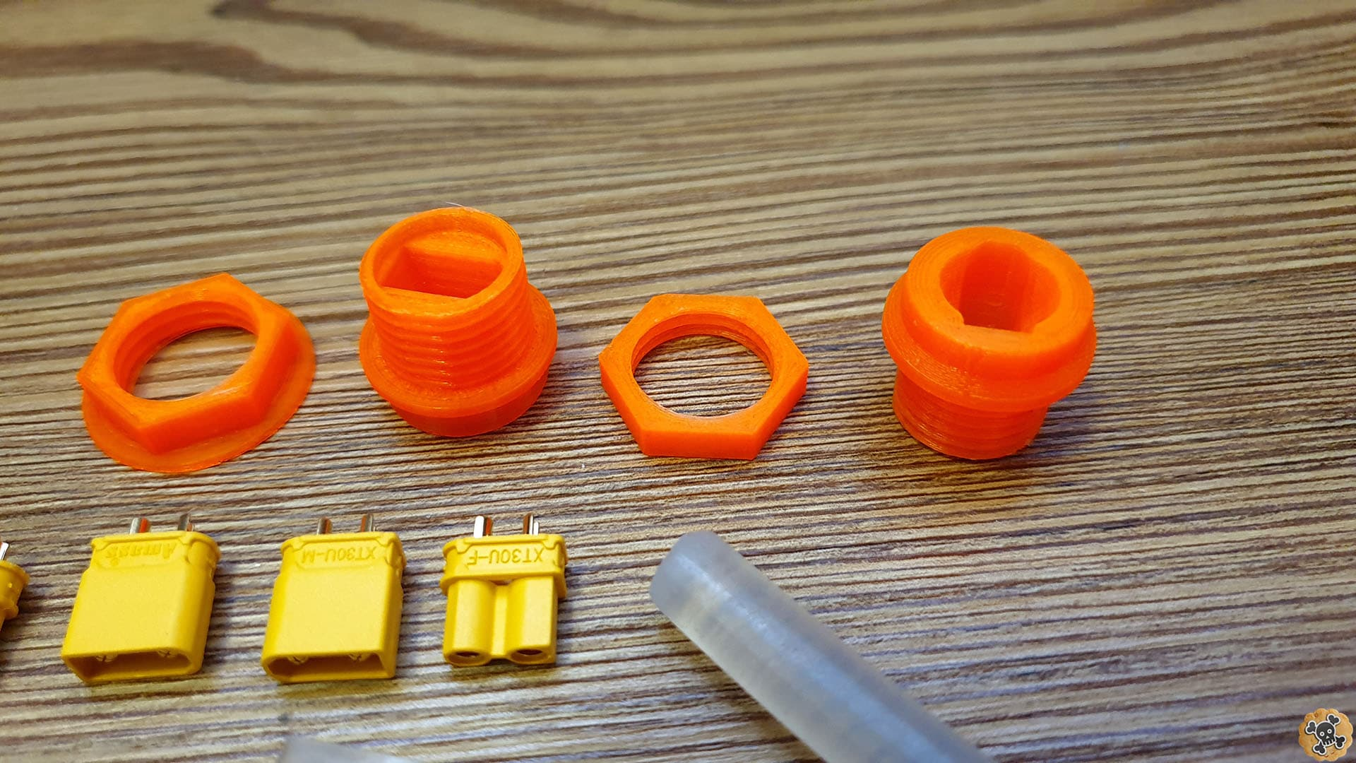 Better Chargin port for Escoot XT30 Mod instead of Dangerous Microphone port ! DIY Set - 3