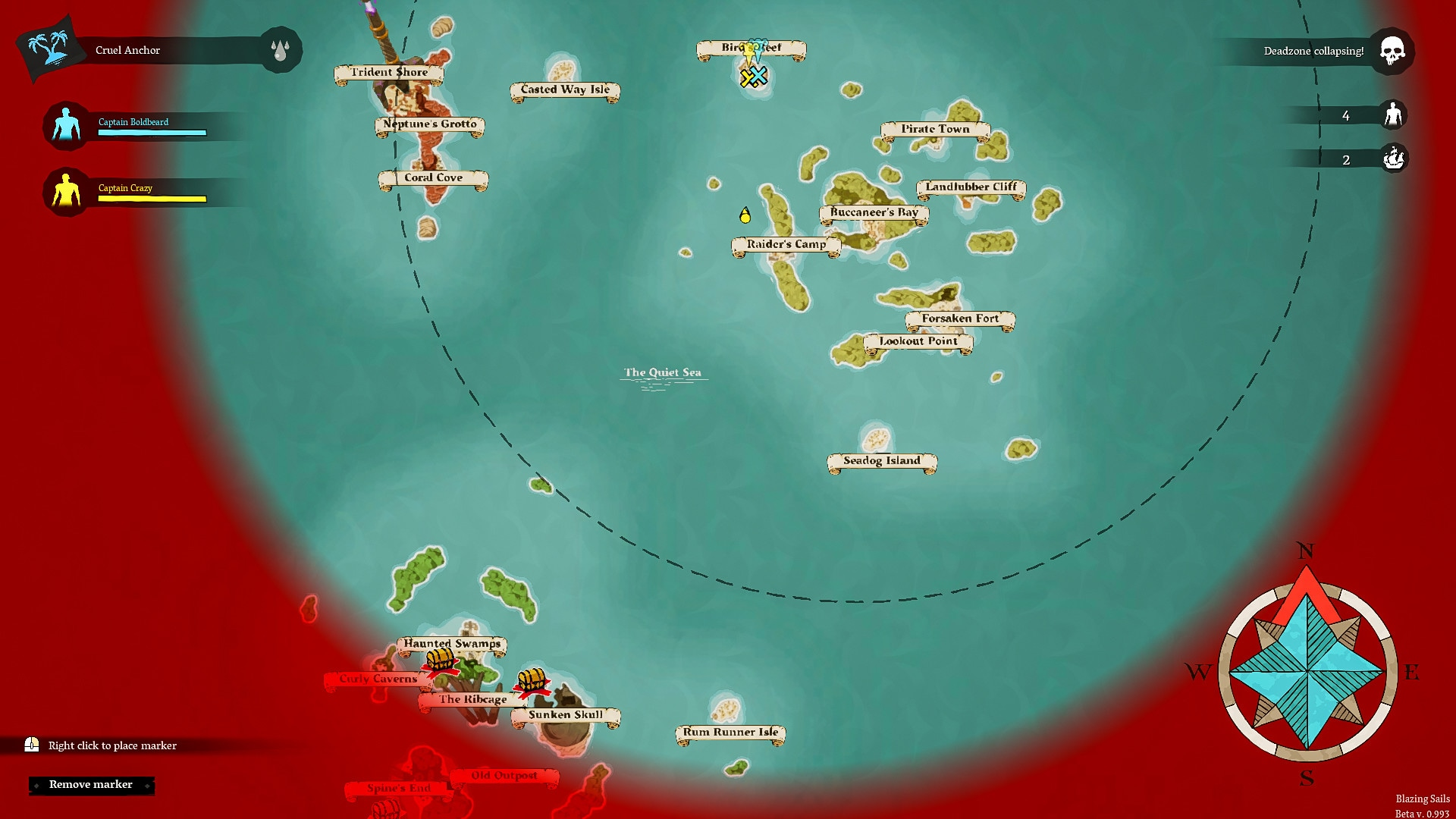 Blazing Sails: Pirate Battle Royale (PC) - Steam Gift - GLOBAL - 4