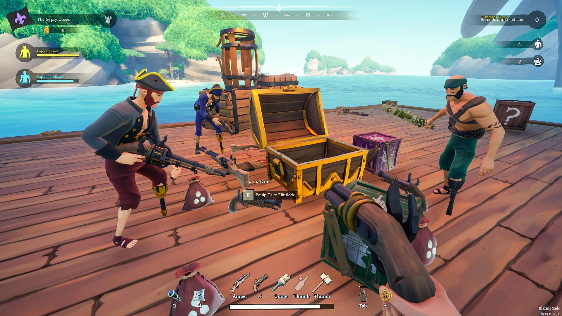 Blazing Sails: Pirate Battle Royale (PC) - Steam Gift - GLOBAL - 3