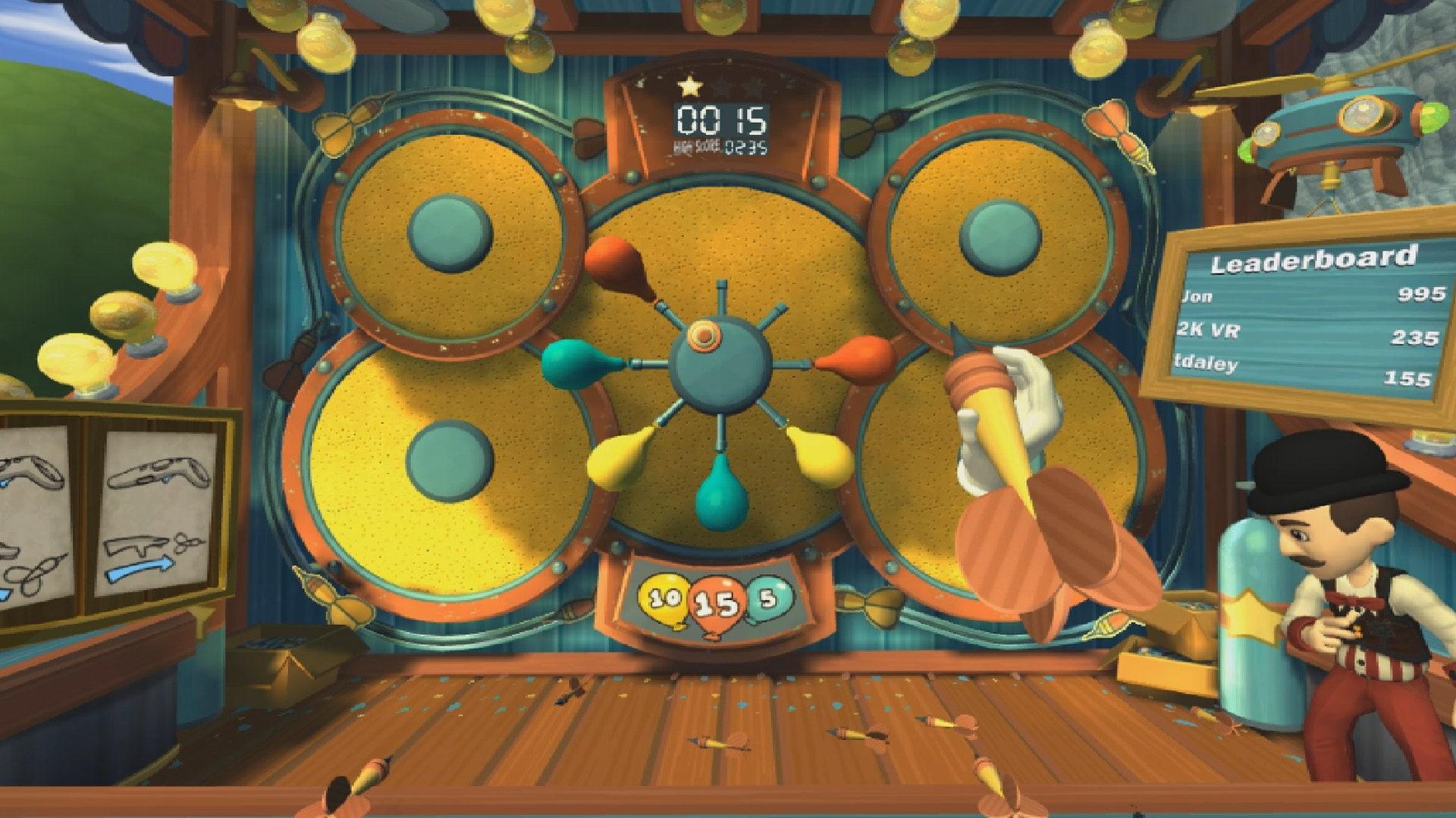 Carnival Games VR Steam Key GLOBAL - 3