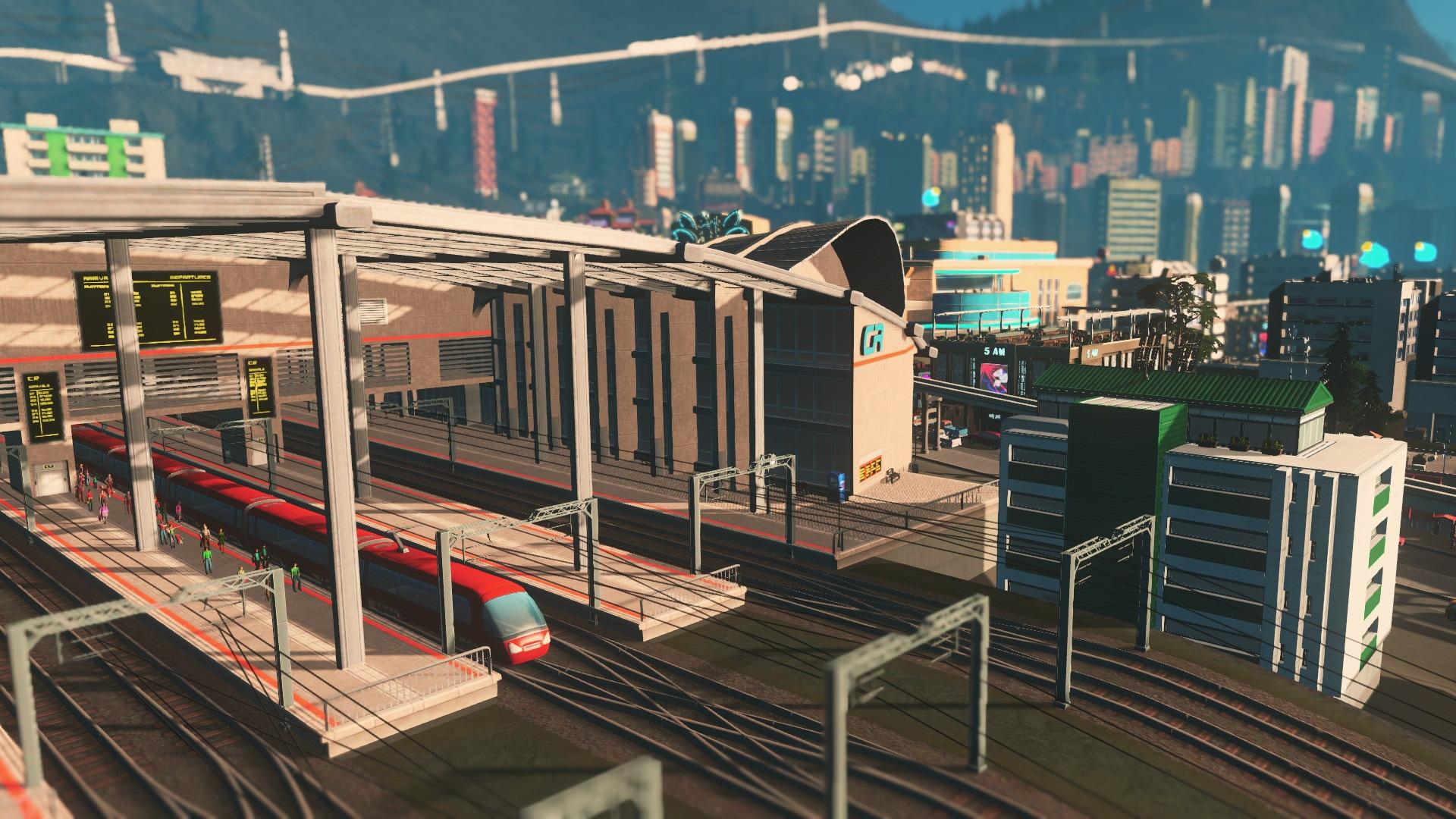Cities: Skylines - Mass Transit Steam Key GLOBAL - 2