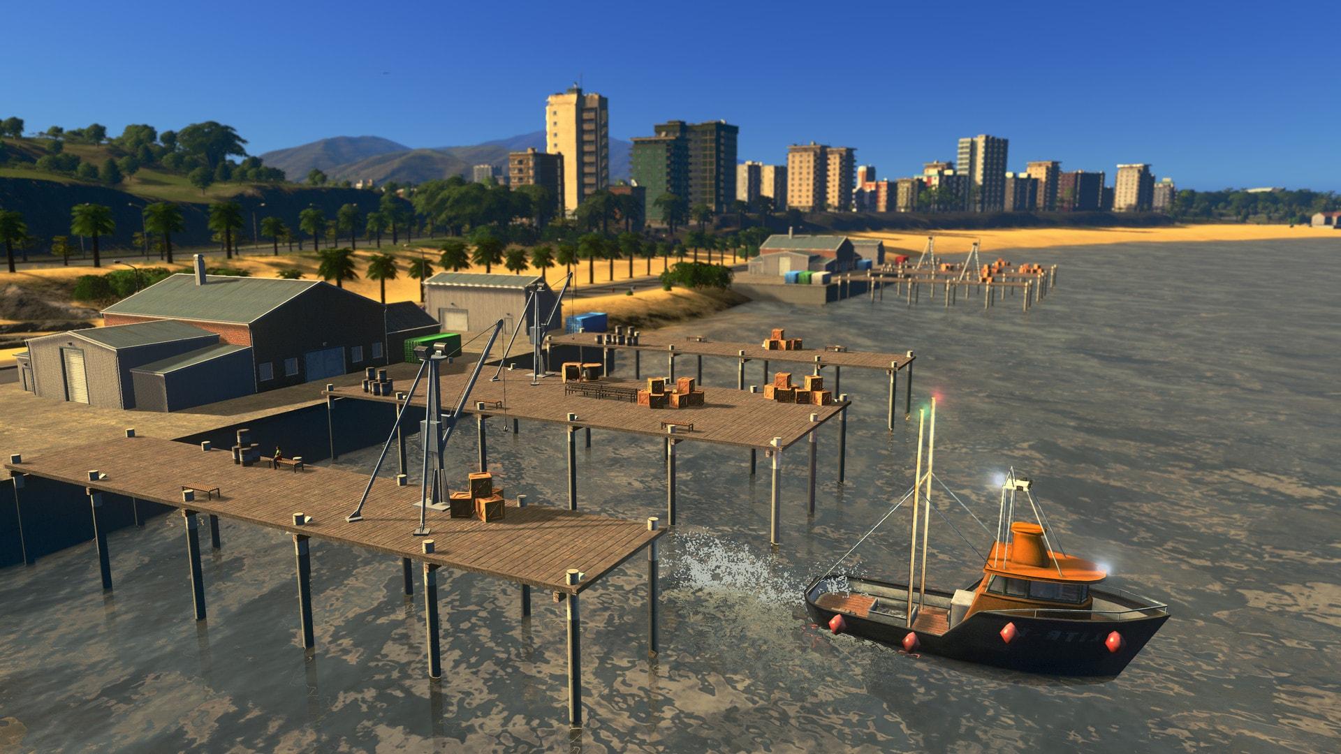 Cities: Skylines - Sunset Harbor (PC) - Steam Key - GLOBAL - 4