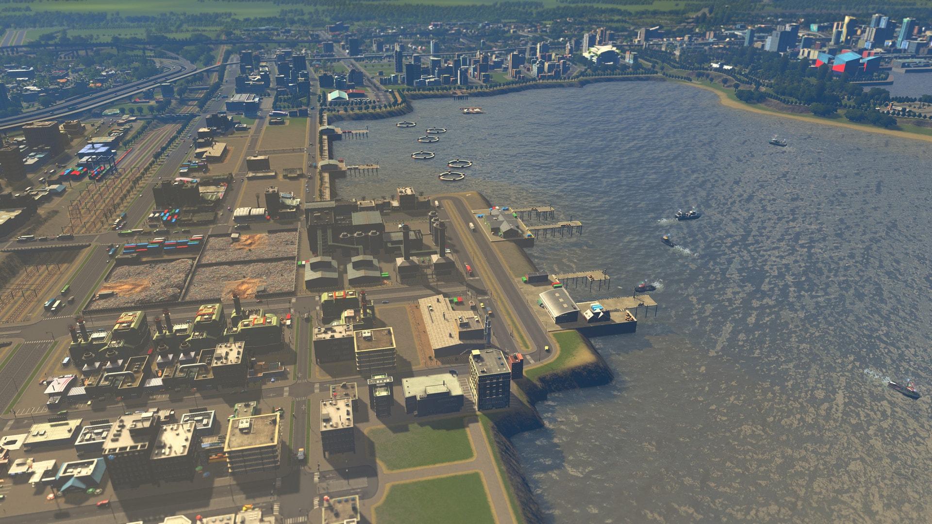 Cities: Skylines - Sunset Harbor (PC) - Steam Key - GLOBAL - 3
