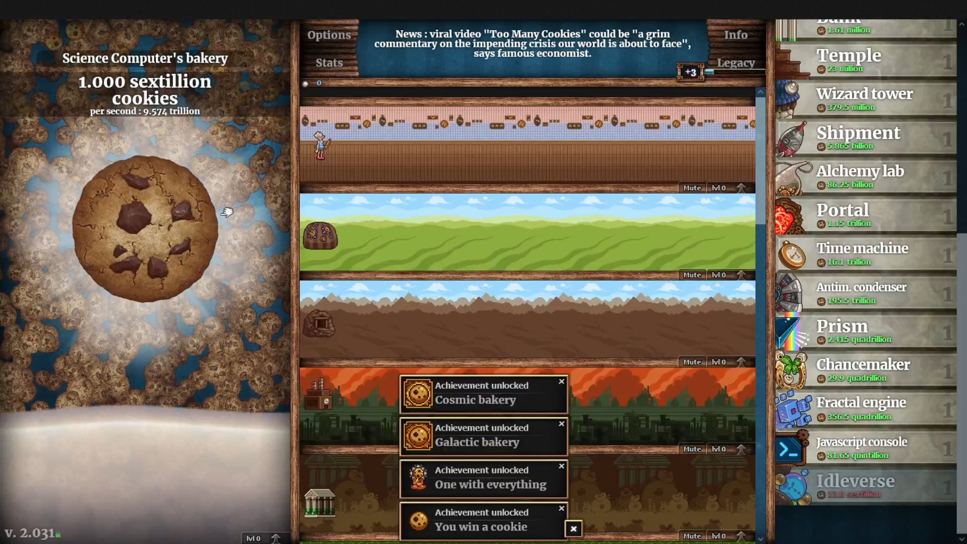 Cookie Clicker (PC) - Steam Gift - GLOBAL - 3