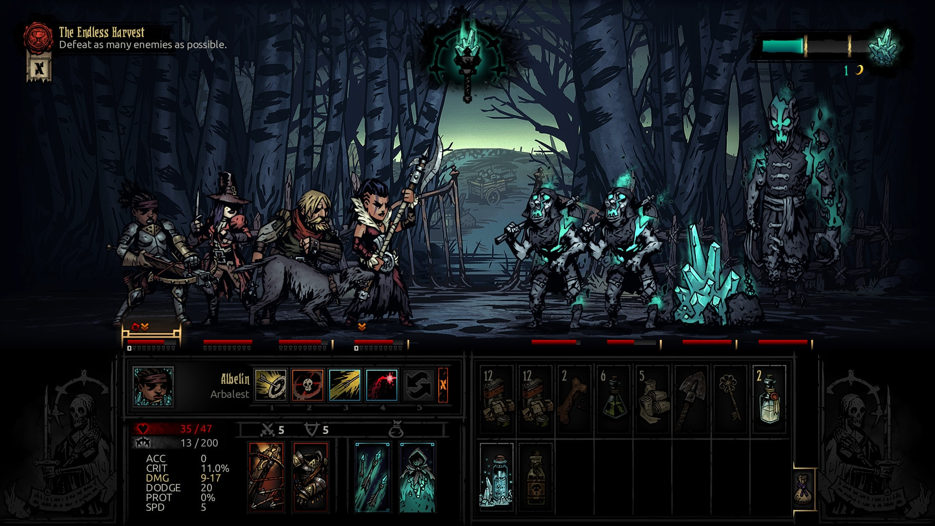 Darkest Dungeon: The Color Of Madness Steam Key GLOBAL - 3