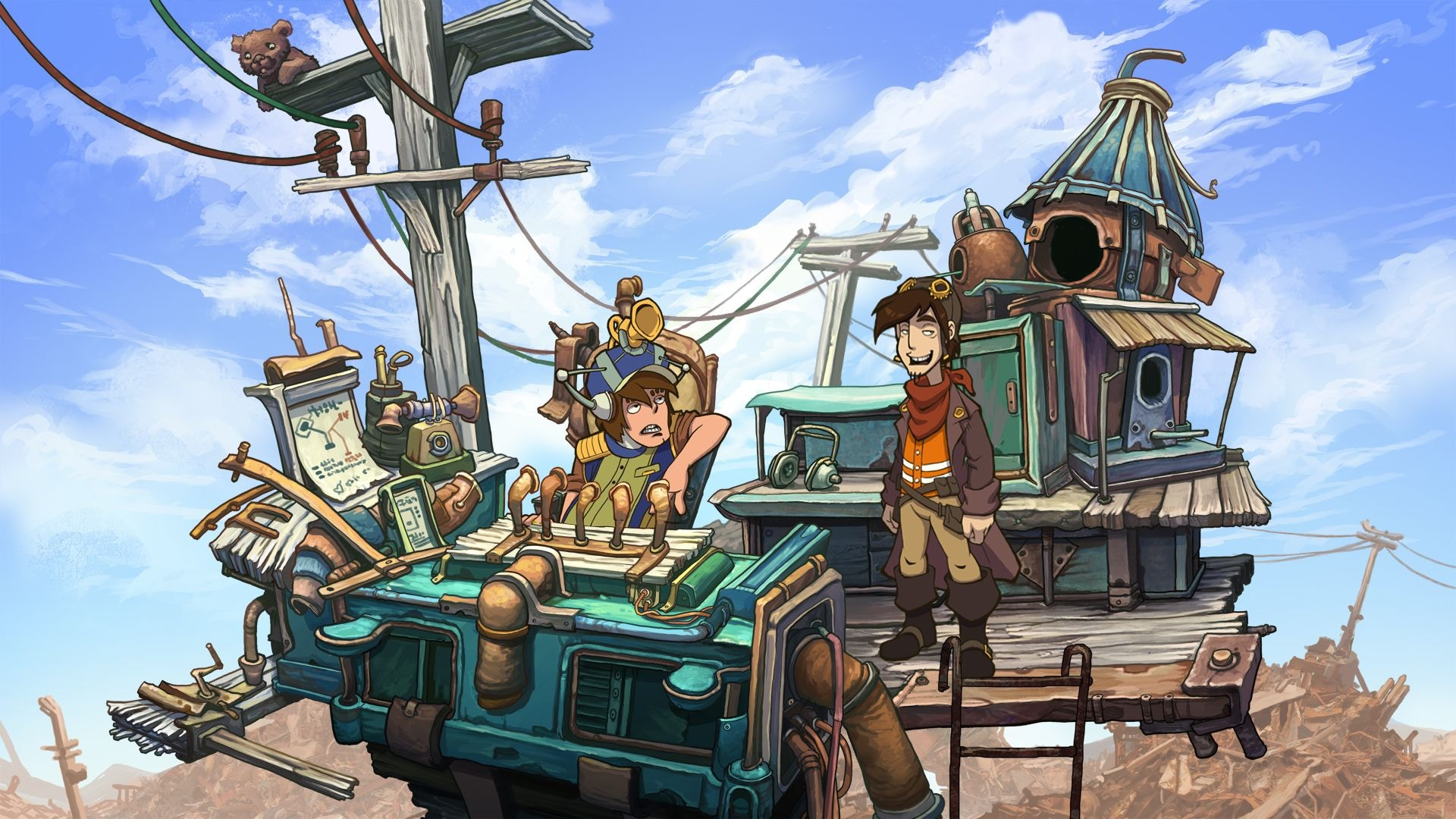 Deponia: The Complete Journey Steam Key GLOBAL - 3