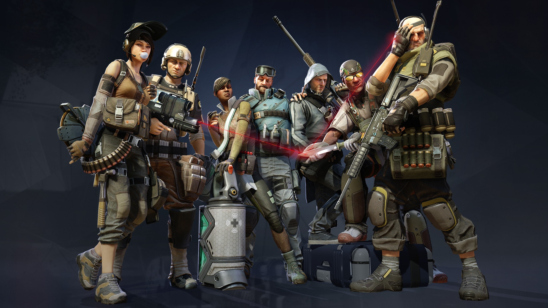 Dirty Bomb - Merc Starter Pack + Game Access Steam Key GLOBAL - 4