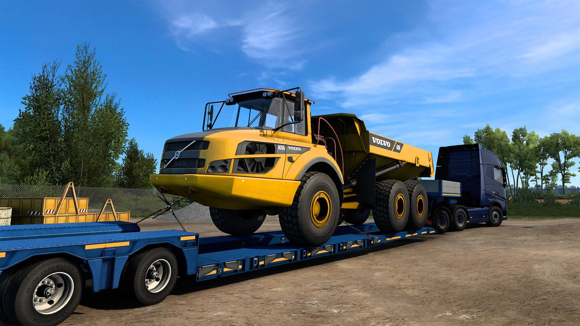 Euro Truck Simulator 2 - Volvo Construction Equipment (PC) - Steam Gift - GLOBAL - 3