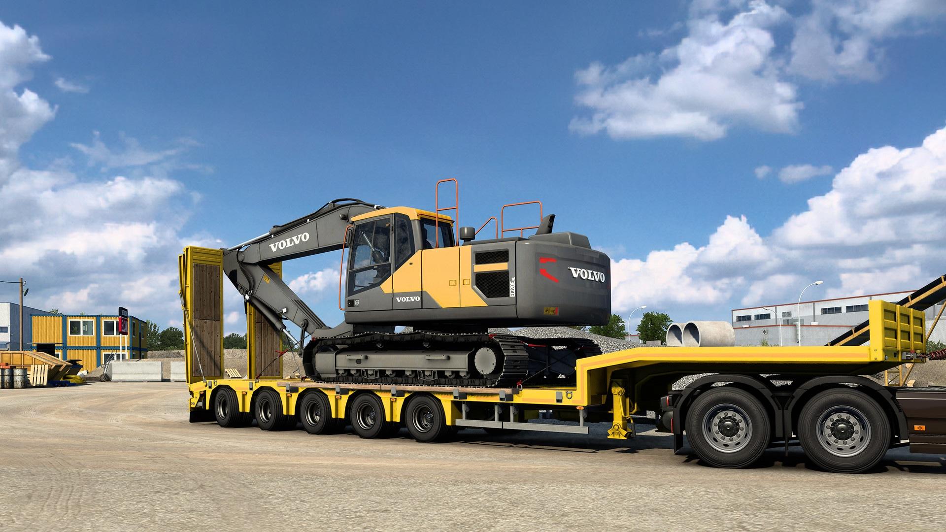 Euro Truck Simulator 2 - Volvo Construction Equipment (PC) - Steam Gift - GLOBAL - 4