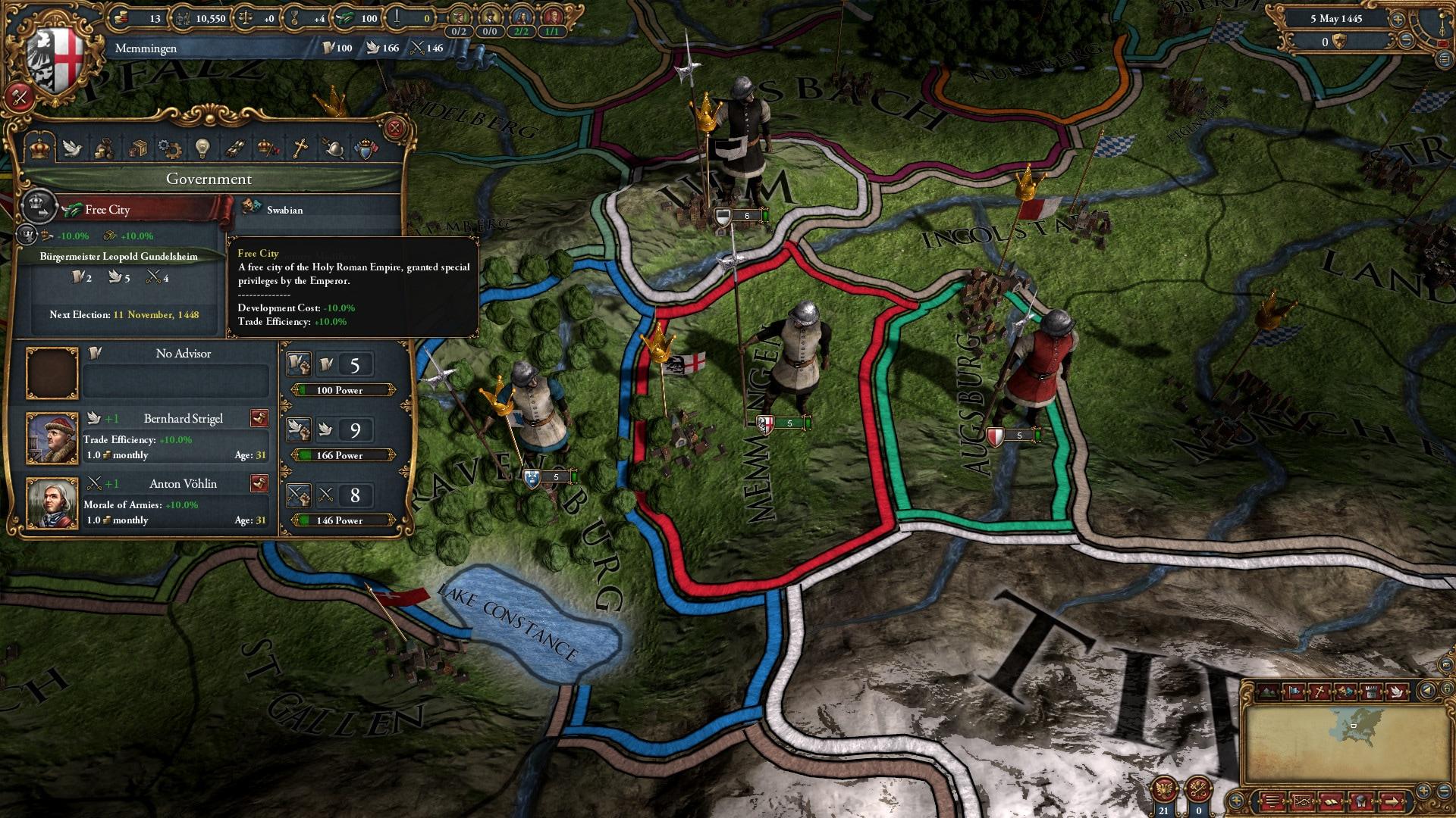 Europa Universalis IV: Common Sense Steam Key GLOBAL - 4
