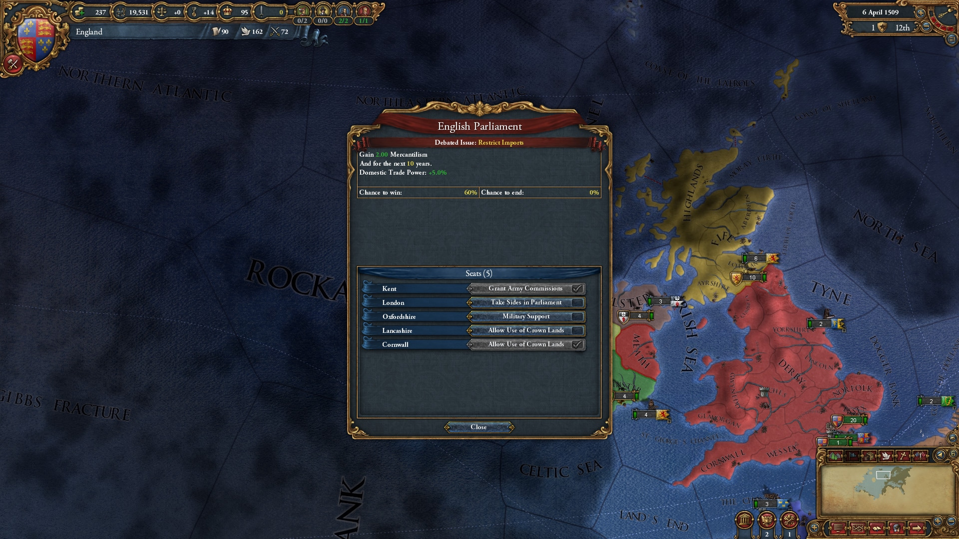 Europa Universalis IV: Common Sense Steam Key GLOBAL - 3