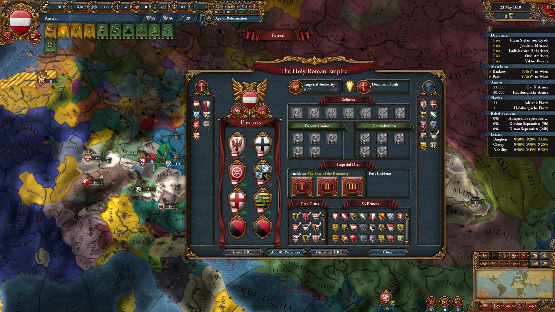 Europa Universalis IV: Emperor (PC) - Steam Key - GLOBAL - 4