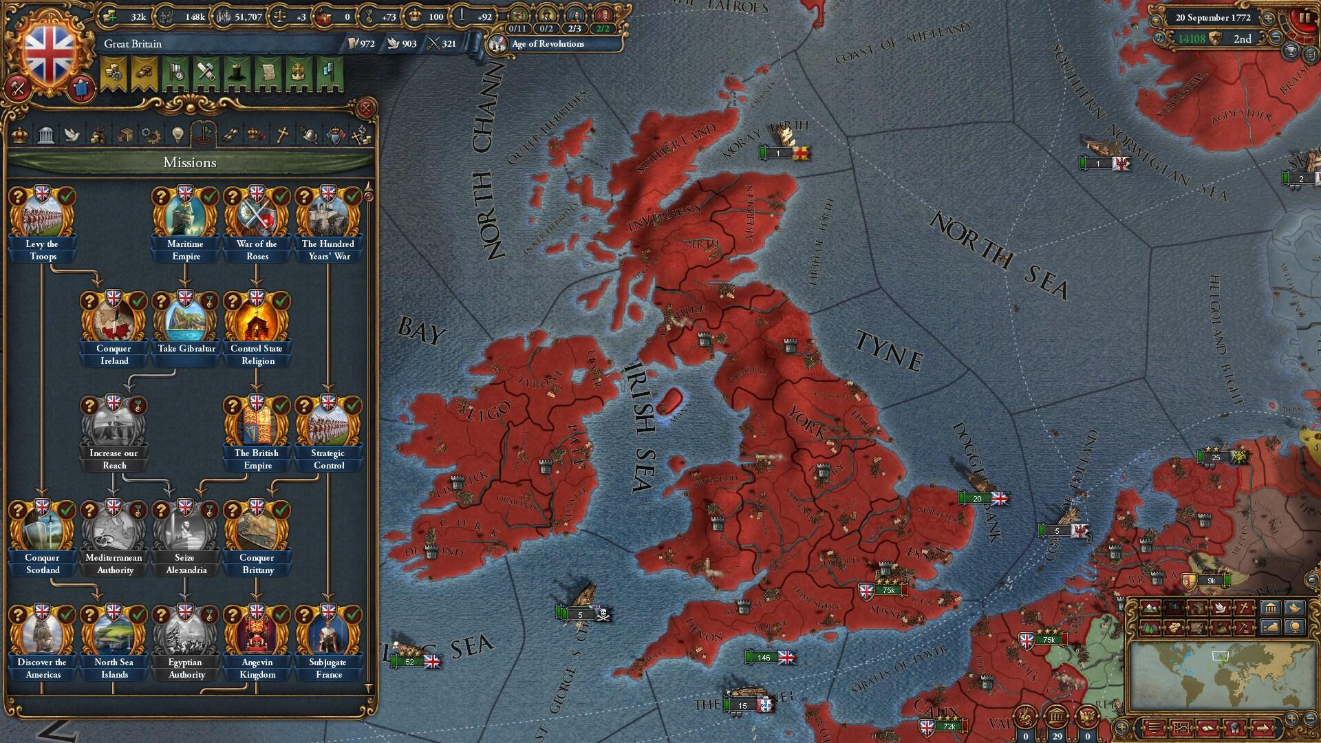 Europa Universalis IV: Rule Britannia (PC) - Steam Key - GLOBAL - 3