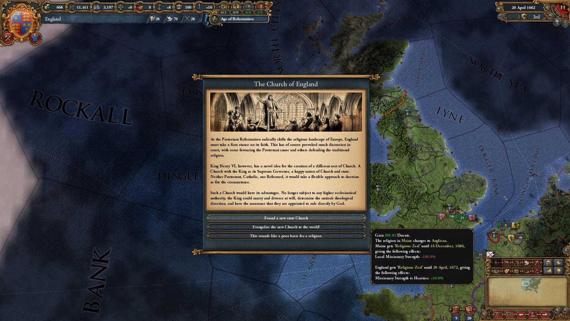 Europa Universalis IV: Rule Britannia (PC) - Steam Key - GLOBAL - 4
