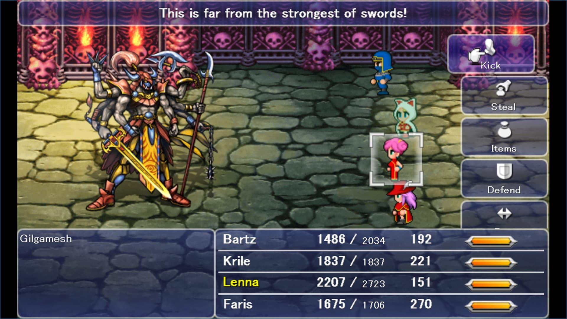 Final Fantasy V Steam Key GLOBAL - 2