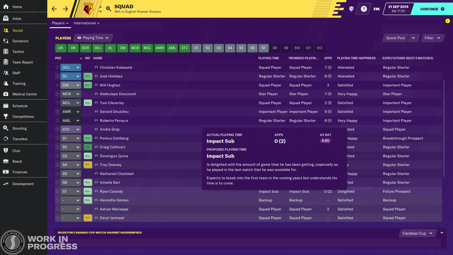 Football Manager 2020 Steam Key GLOBAL - 3