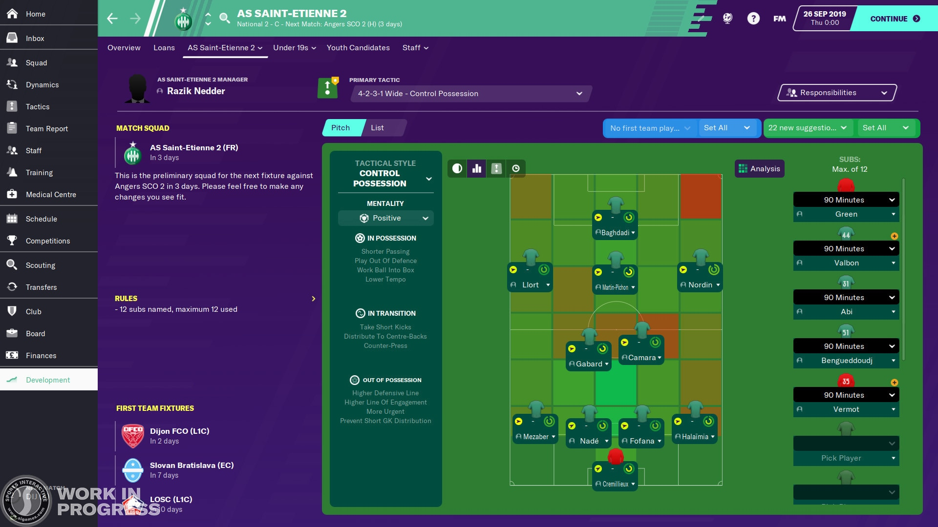 Football Manager 2020 Steam Key GLOBAL - 4