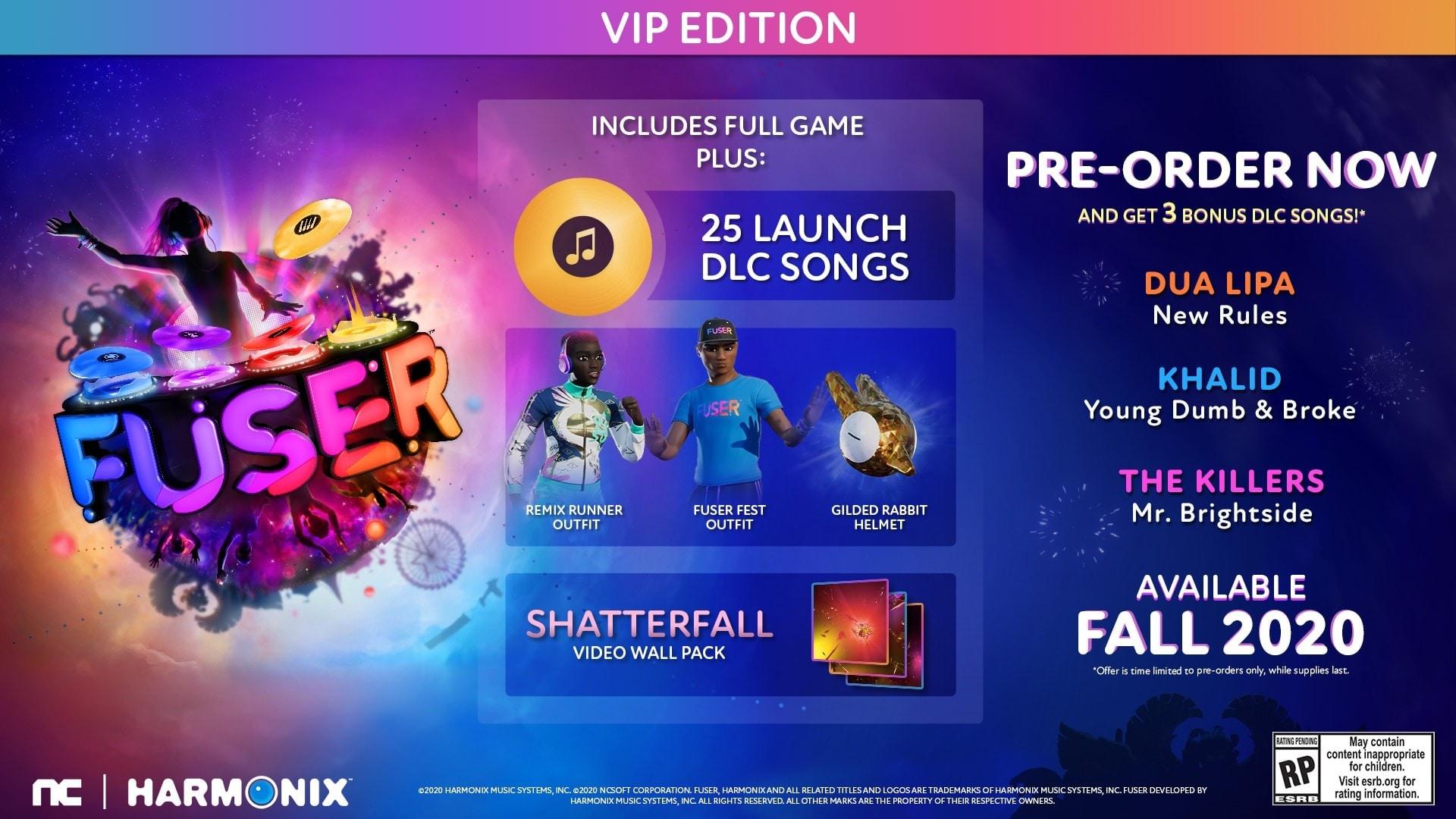 FUSER   VIP Edition (PC) - Steam Gift - EUROPE - 2