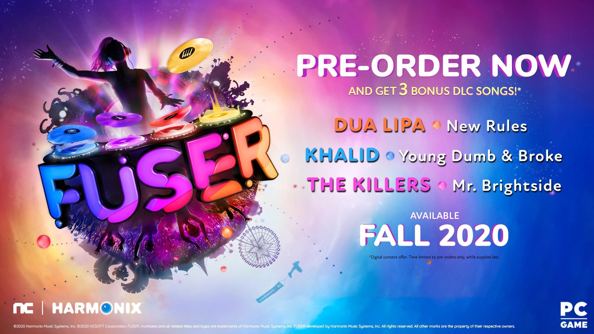 FUSER | VIP Edition (PC) - Steam Gift - NORTH AMERICA - 1