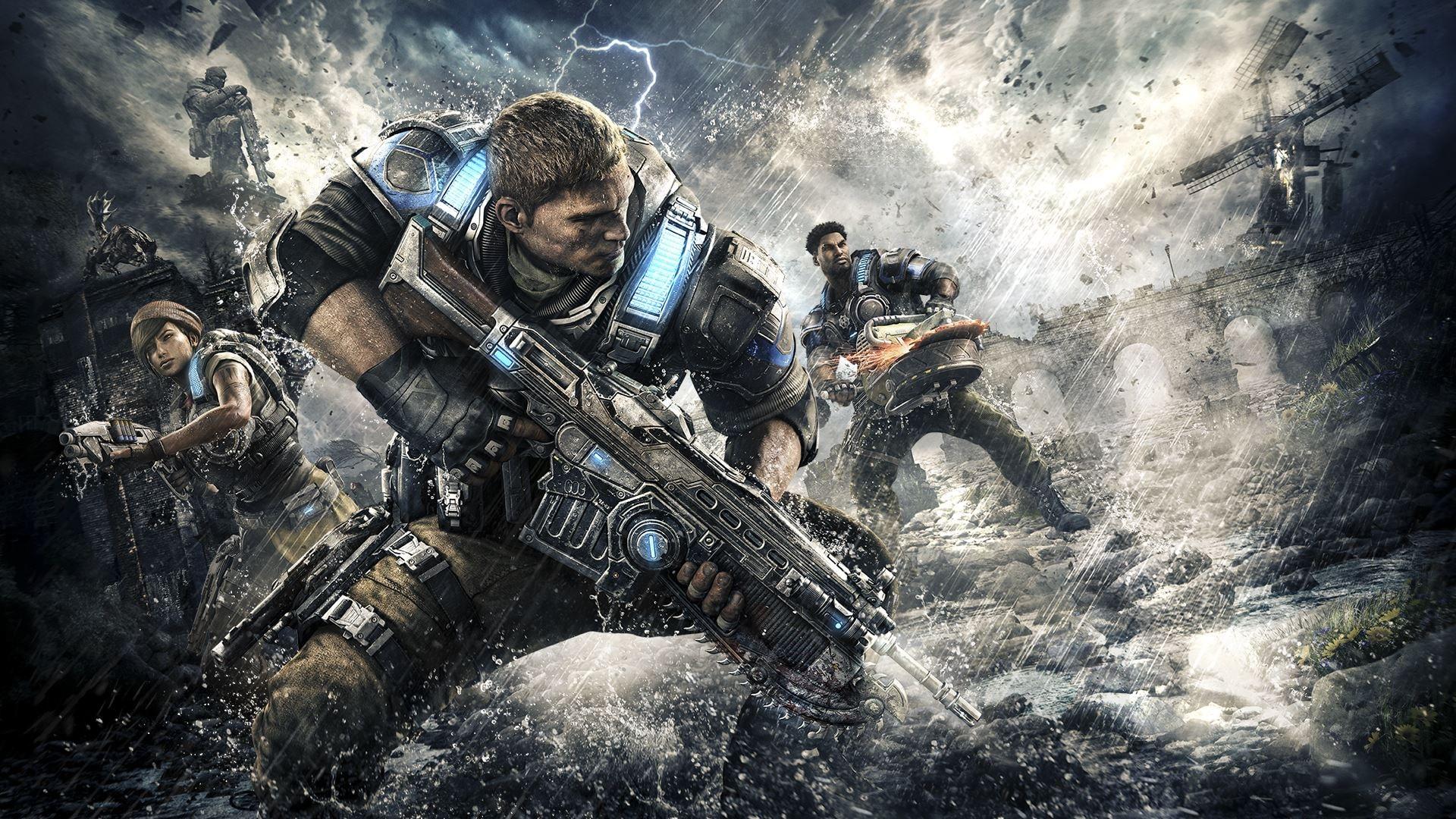 Gears of War 4 (Xbox One, Windows 10) - Xbox Live Key - GLOBAL - 4