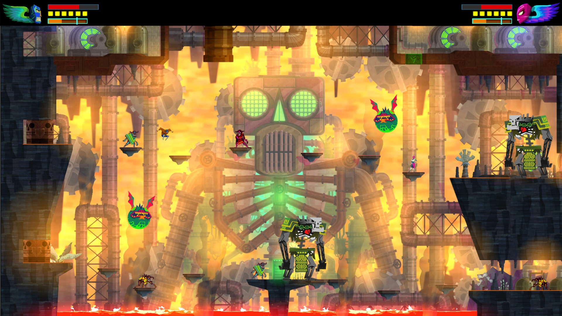 Guacamelee! Super Turbo Championship Edition Steam Key GLOBAL - 2