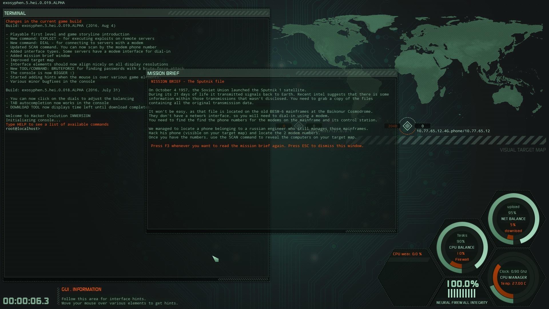 Hacker Evolution IMMERSION Steam Gift GLOBAL - 2