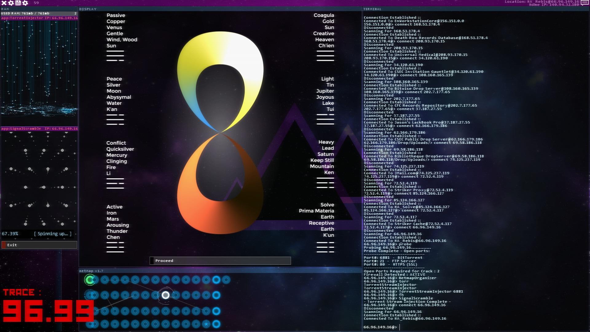 Hacknet - Labyrinths Steam Key GLOBAL - 4