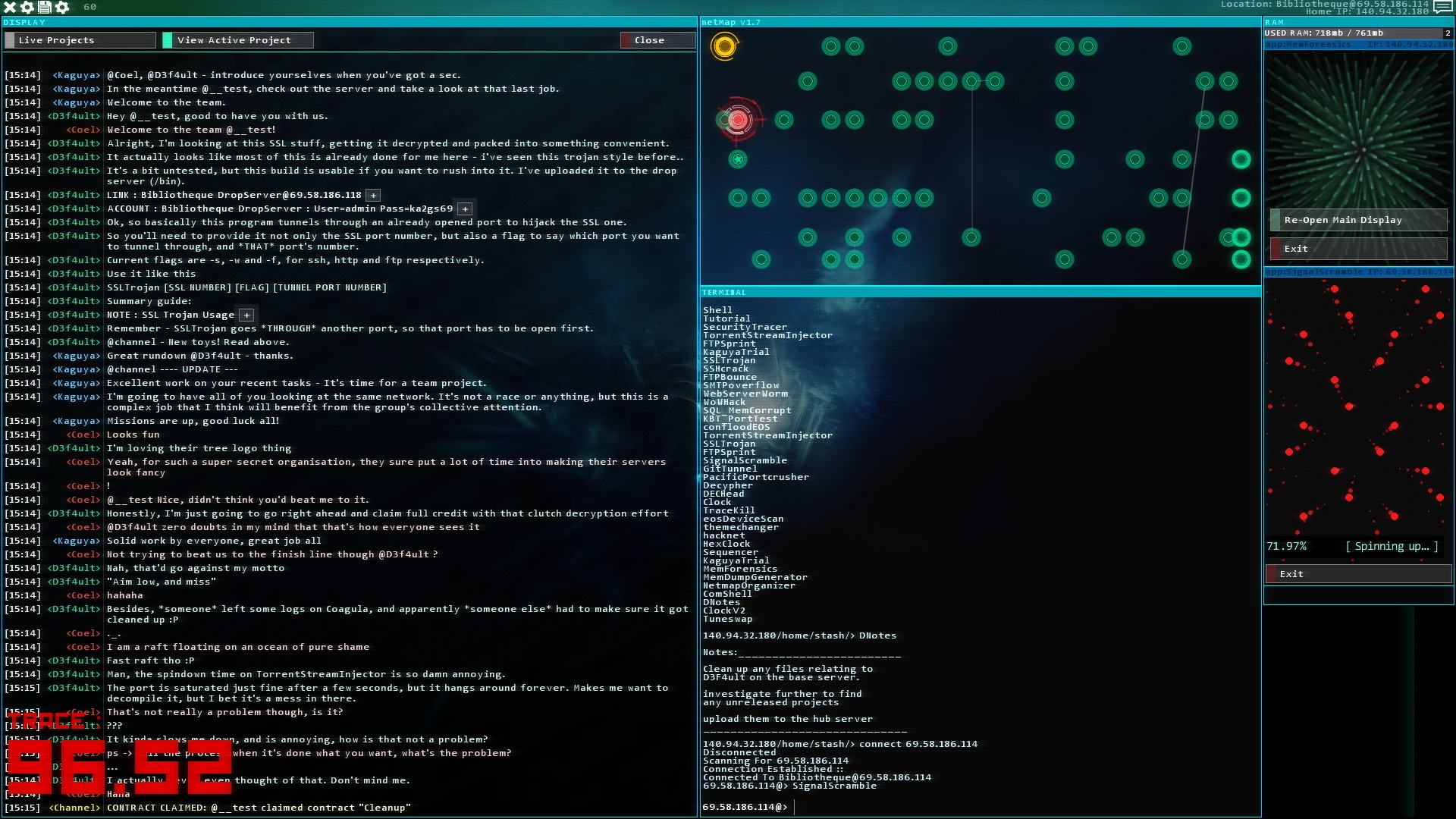 Hacknet - Labyrinths Steam Key GLOBAL - 3