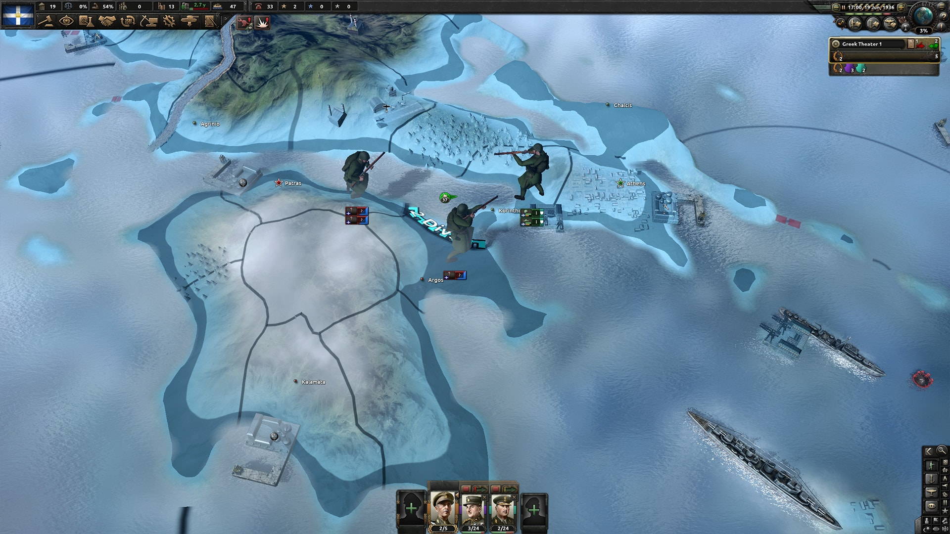 Hearts of Iron IV: Battle for the Bosporus (PC) - Steam Key - GLOBAL - 3
