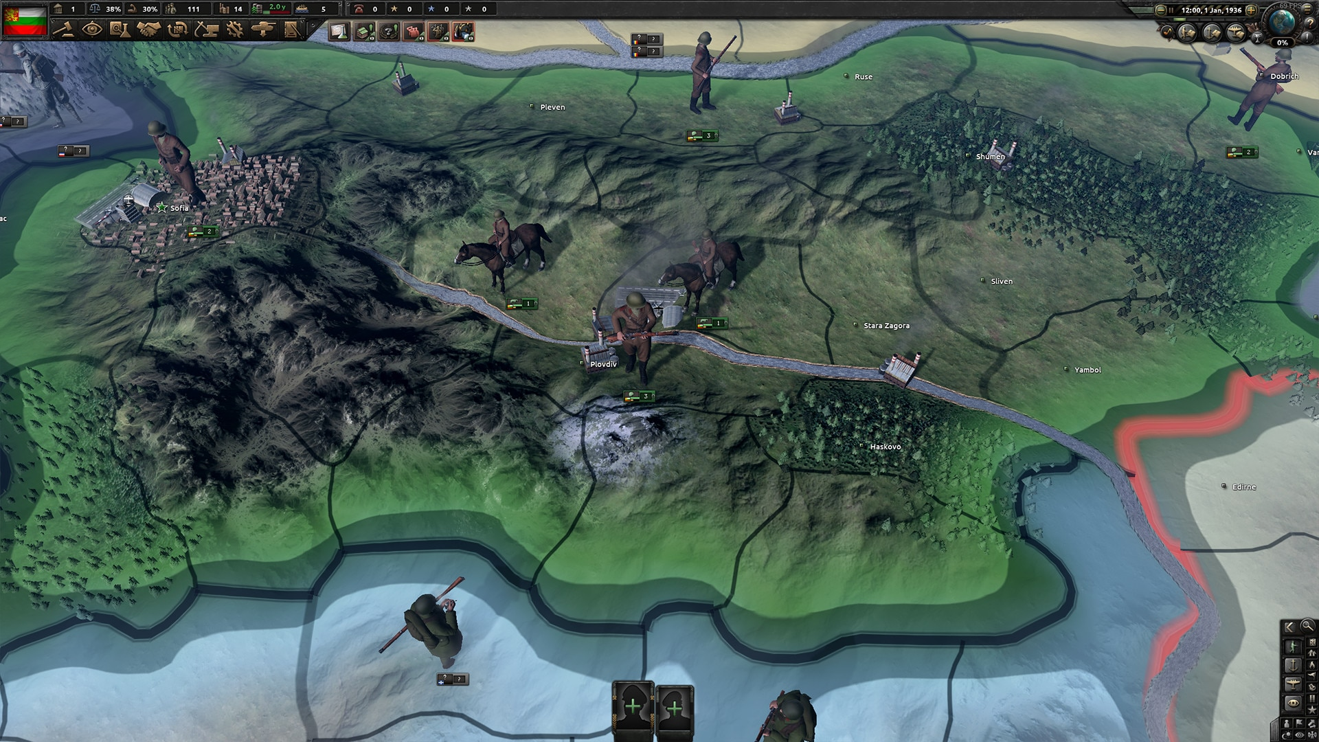 Hearts of Iron IV: Battle for the Bosporus (PC) - Steam Key - GLOBAL - 4