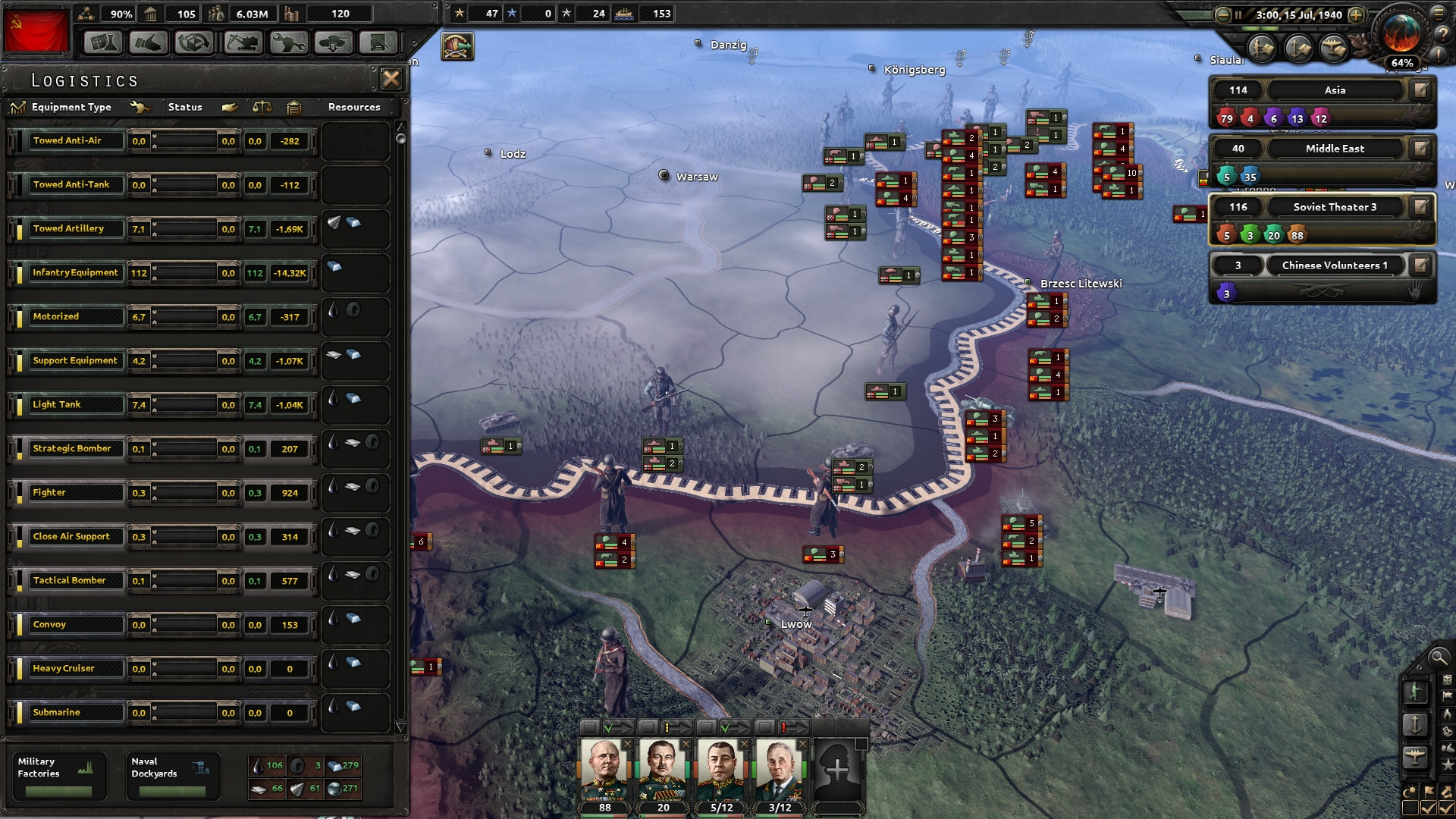 Hearts of Iron IV: Cadet Edition (PC) - Steam Key - GLOBAL - 4