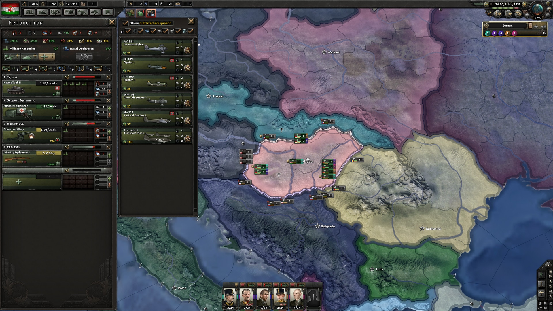 Hearts of Iron IV: Death or Dishonor Steam Key GLOBAL - 4