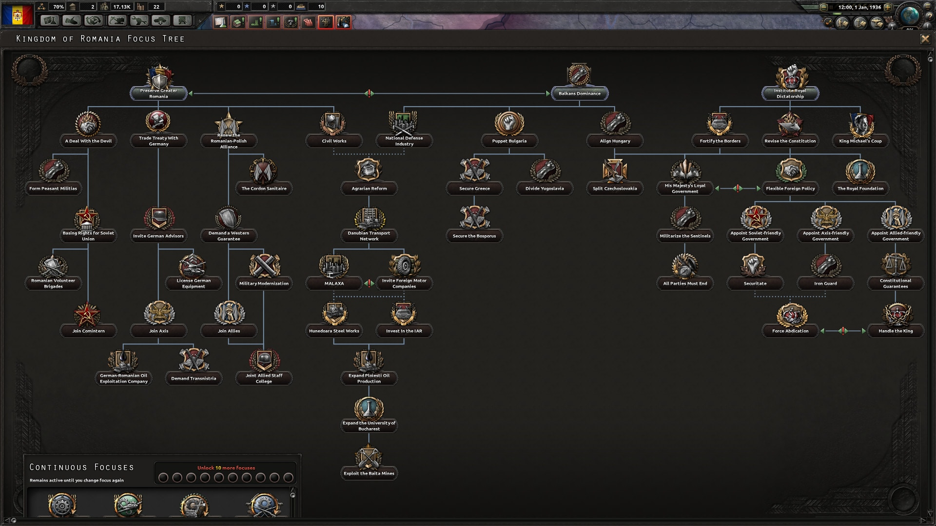 Hearts of Iron IV: Death or Dishonor Steam Key GLOBAL - 3