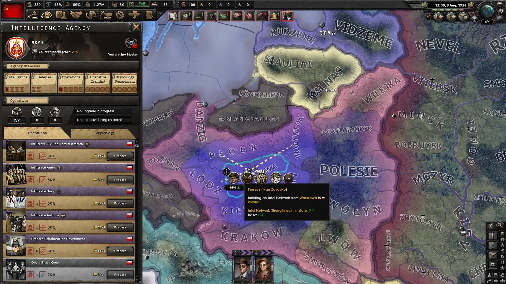 Hearts of Iron IV: La Résistance (PC) - Steam Key - GLOBAL - 4