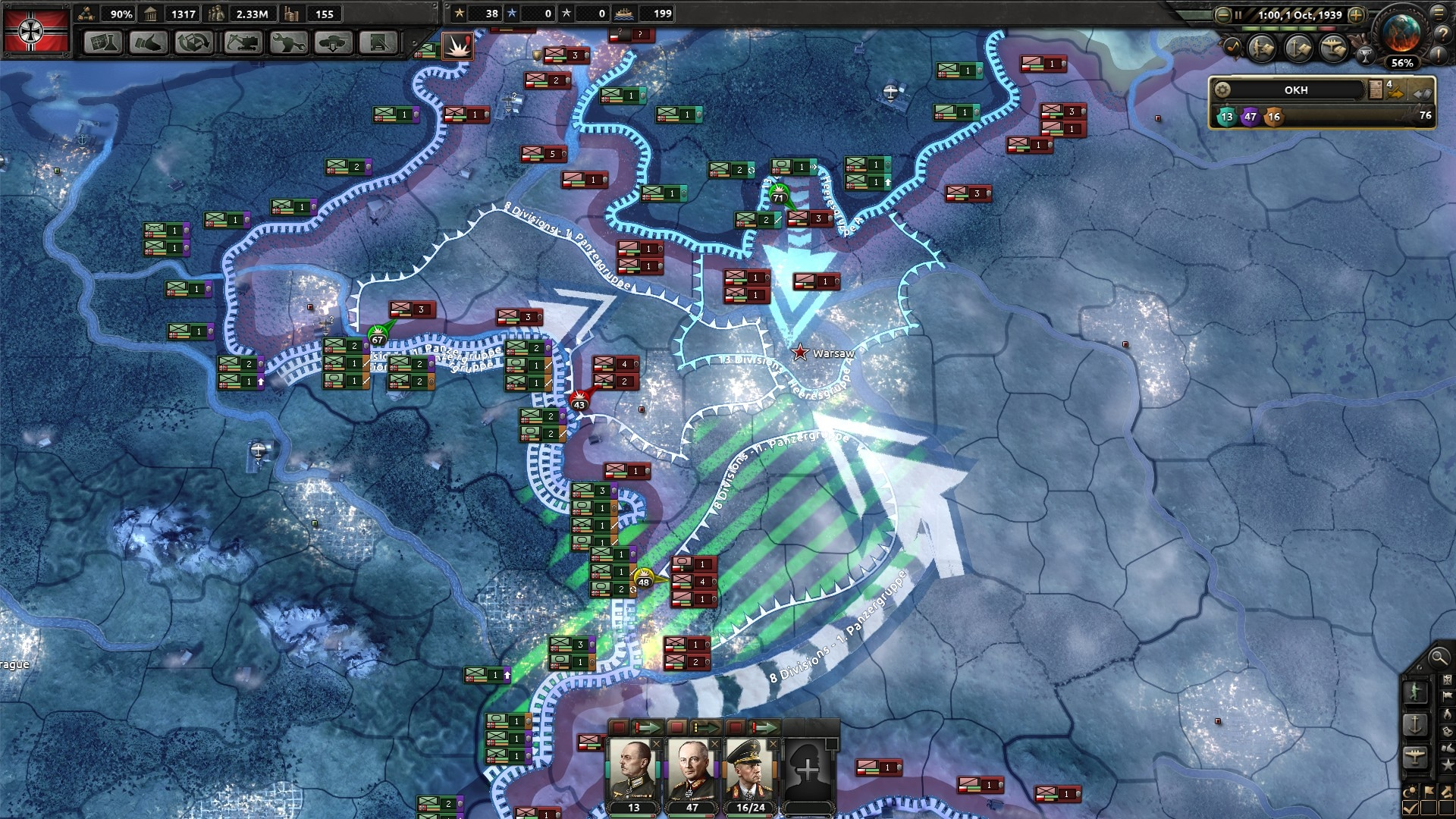 Hearts of Iron IV: Together for Victory DLC Steam Key GLOBAL - 4