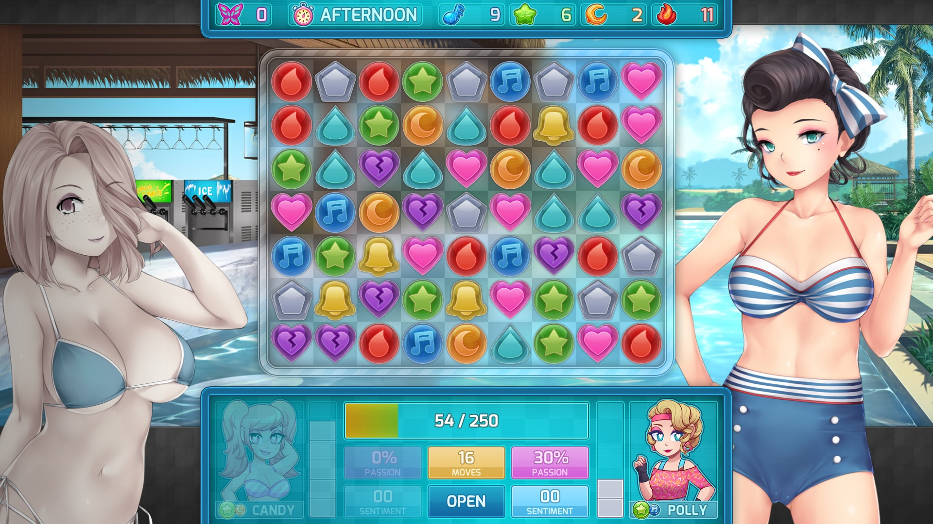 HuniePop 2: Double Date (PC) - Steam Gift - GLOBAL - 4