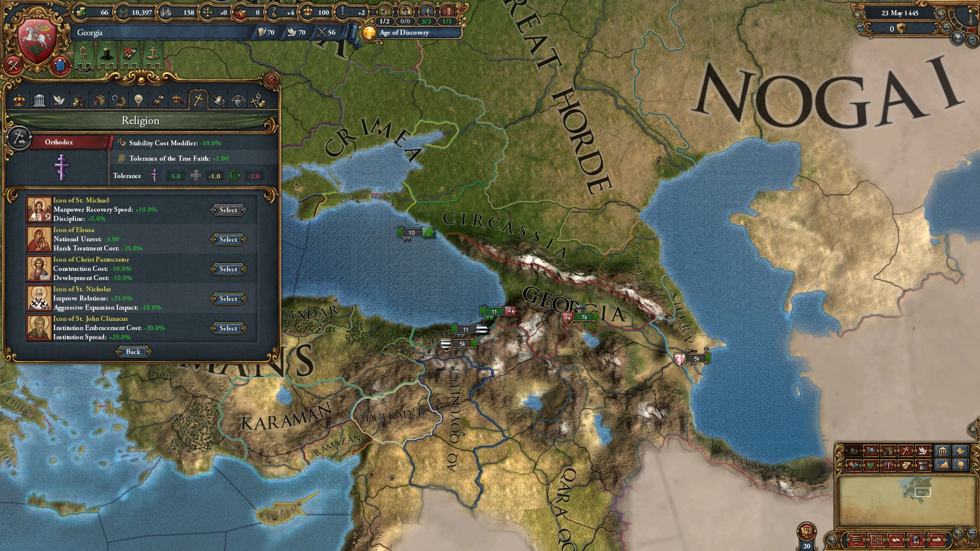 Immersion Pack - Europa Universalis IV: Third Rome Steam Key GLOBAL - 3