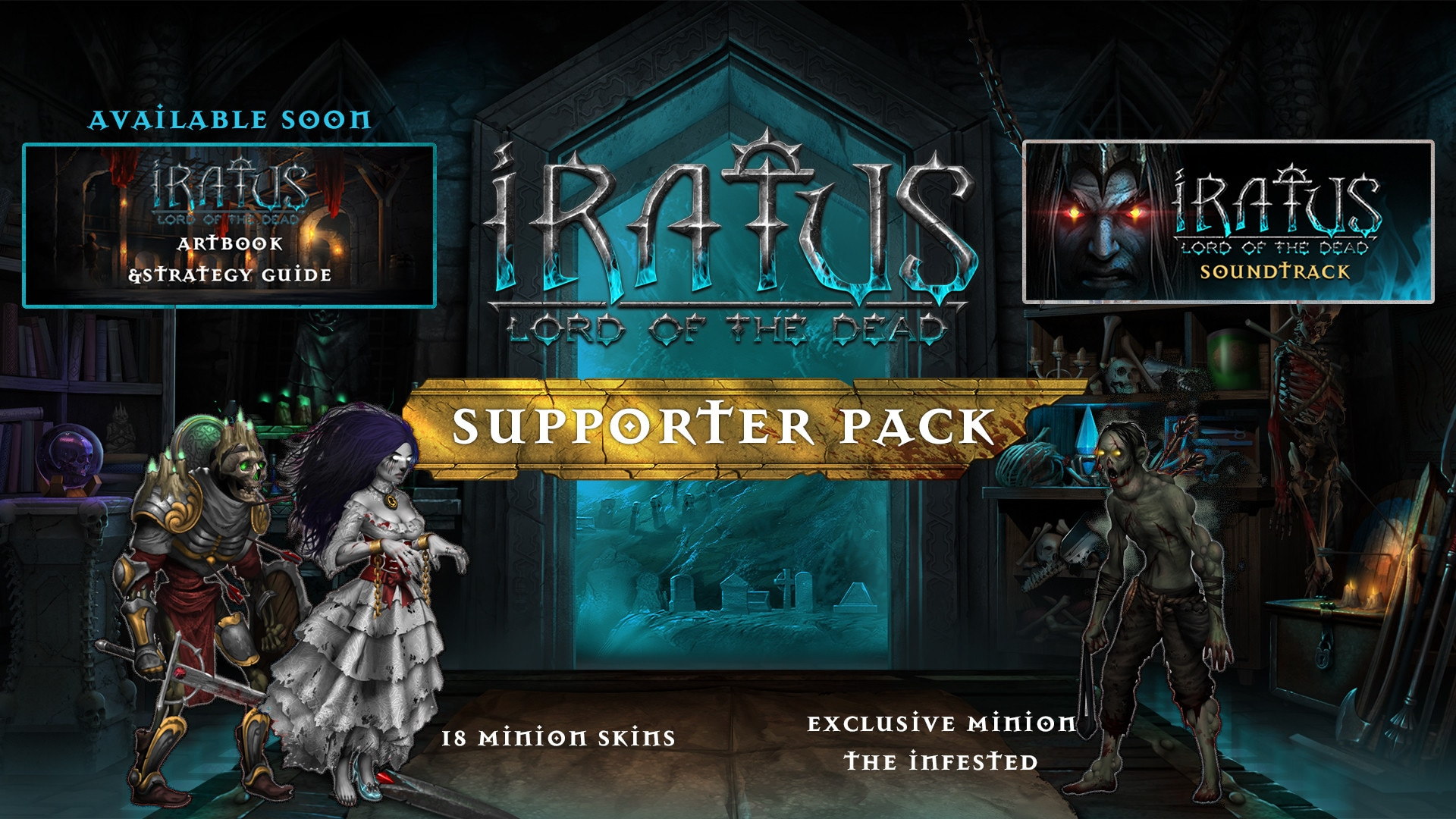 Iratus: Lord of the Dead - Supporter Pack (PC) - Steam Gift - EUROPE - 2