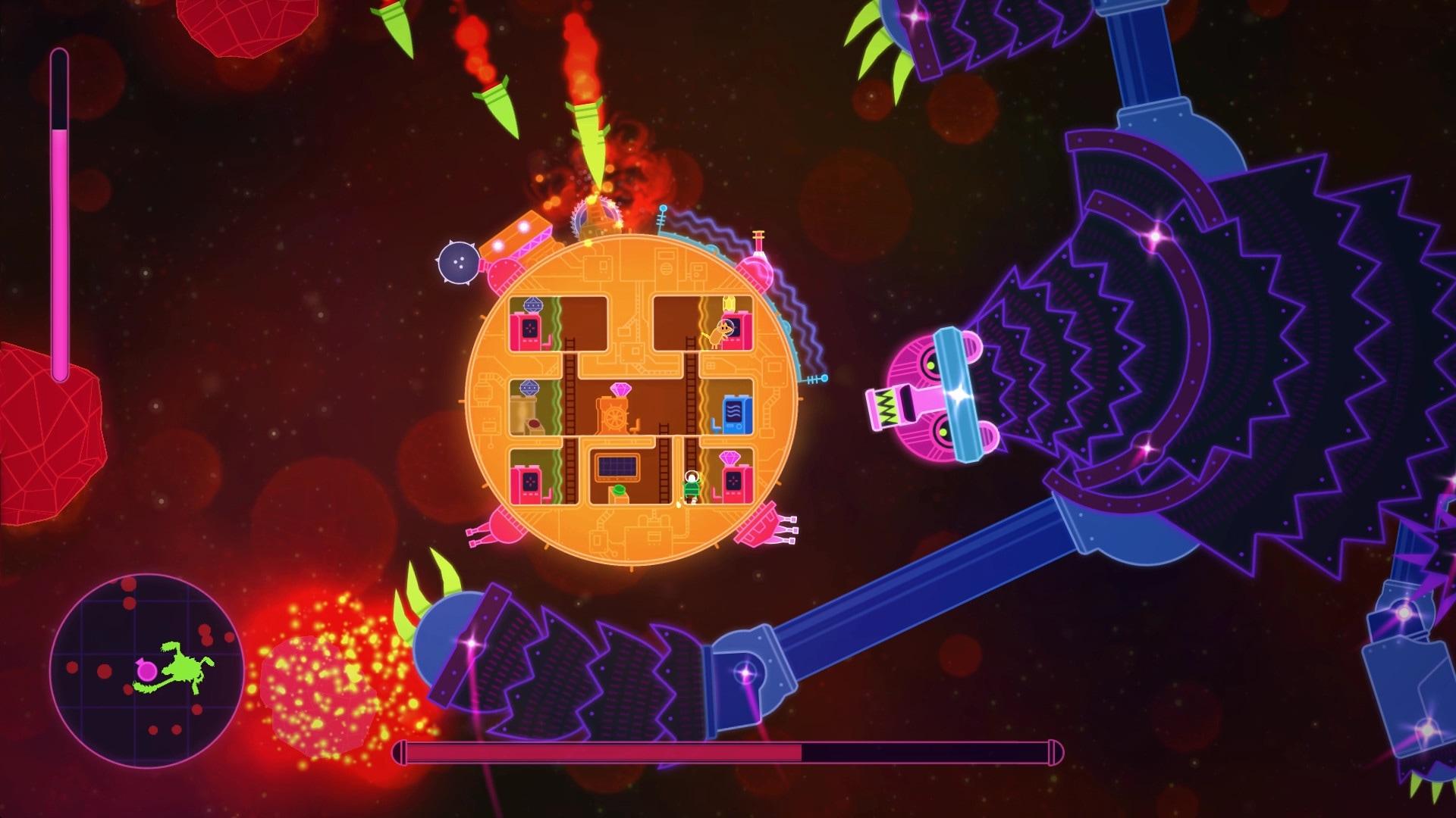 Lovers in a Dangerous Spacetime Steam Key GLOBAL - 2