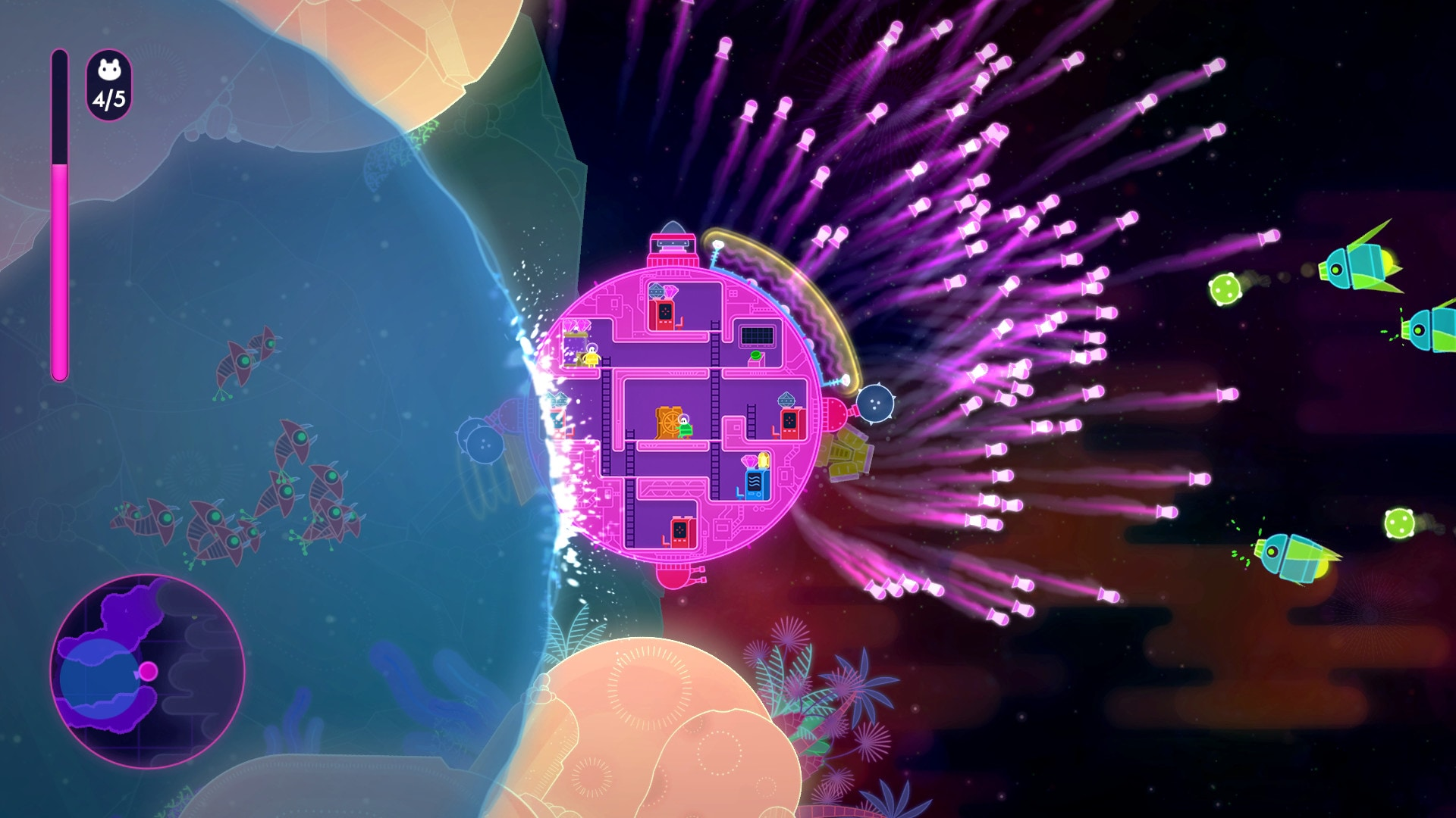 Lovers in a Dangerous Spacetime Steam Key GLOBAL - 4