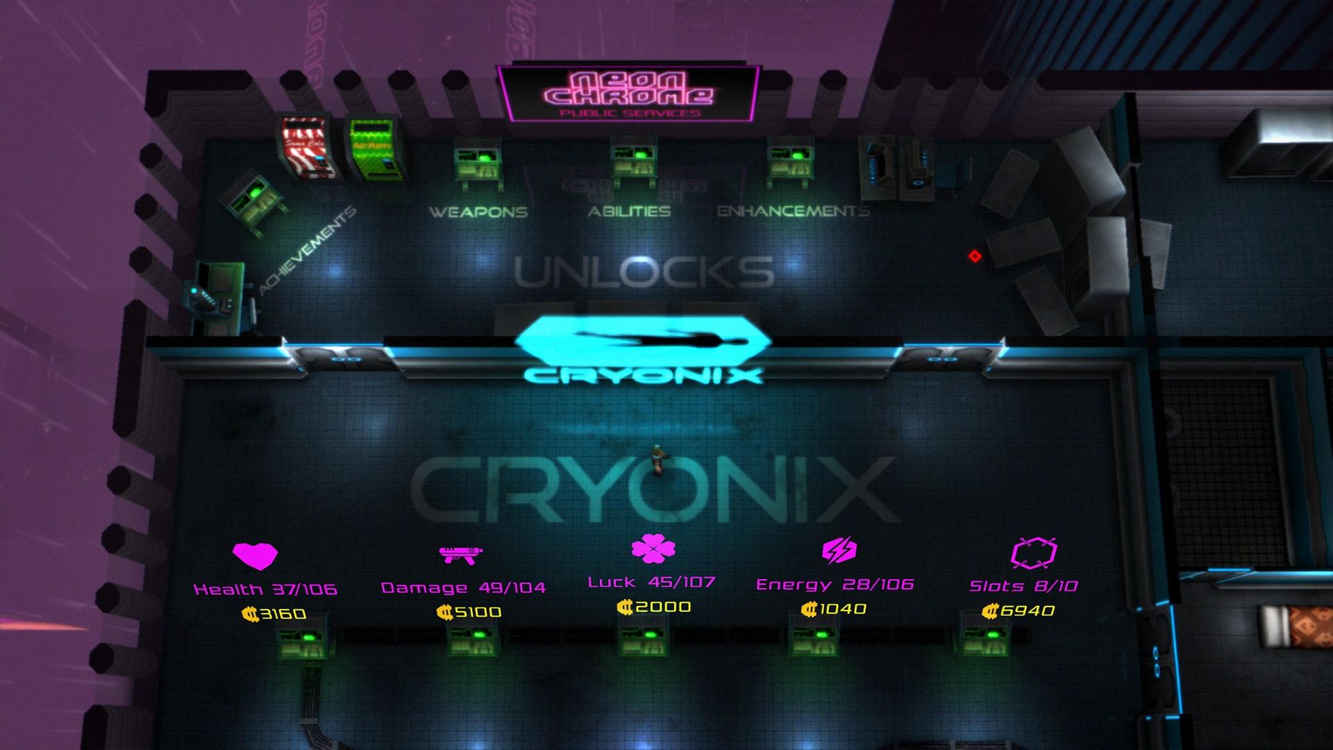 Neon Chrome Steam Key GLOBAL - 2